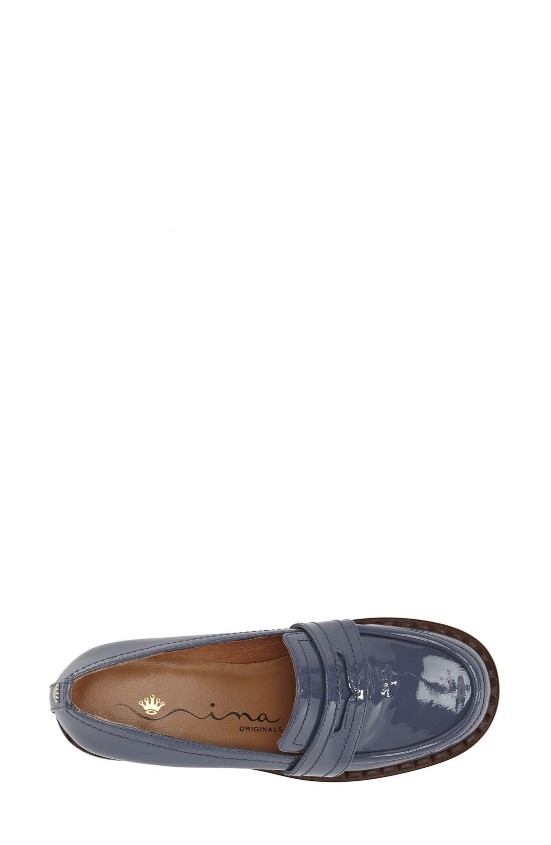 'Mystique' Penny Loafer,                             Alternate thumbnail 3, color,                             405
