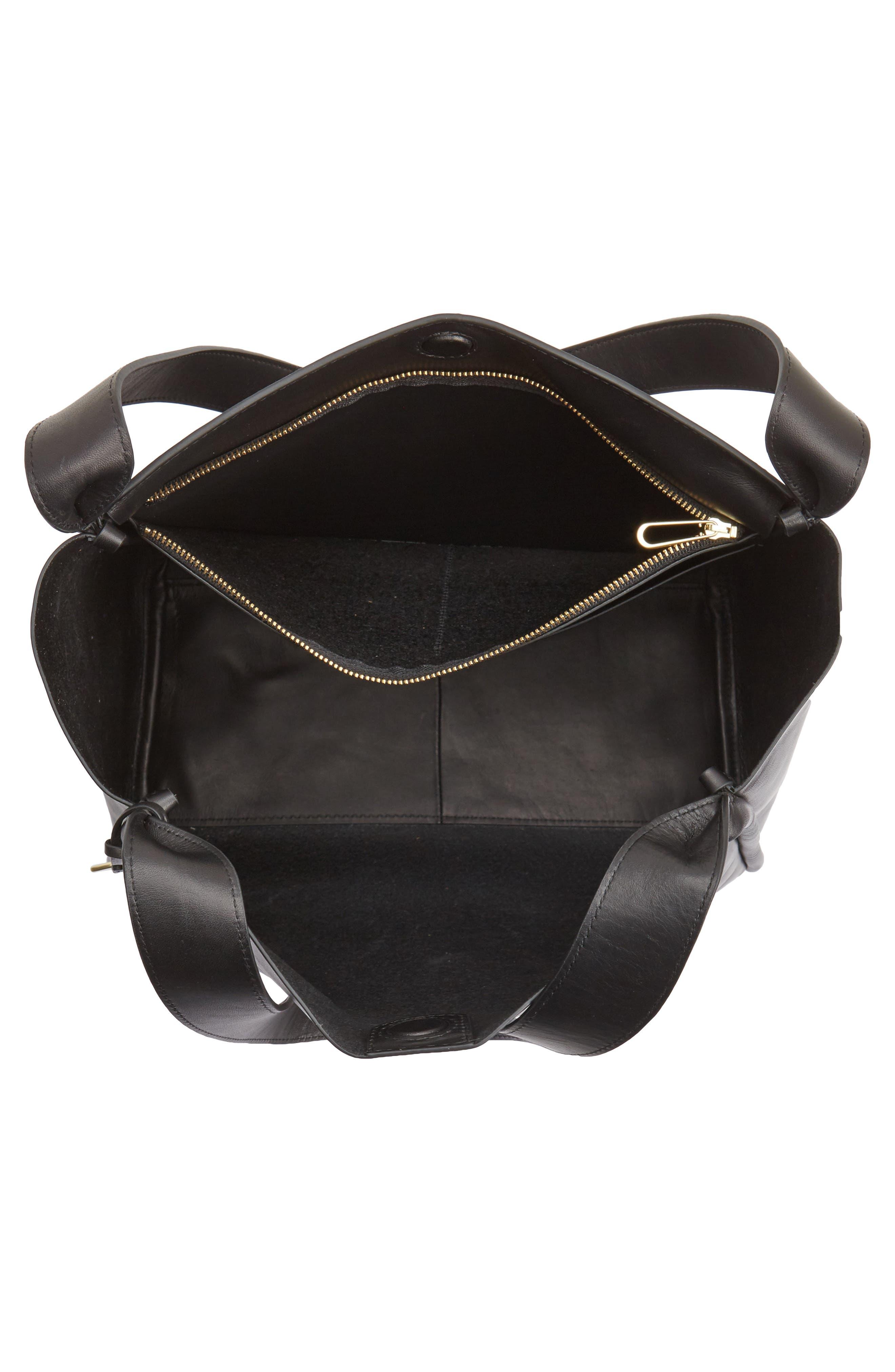 Karalie Leather Shoulder Bag,                             Alternate thumbnail 10, color,