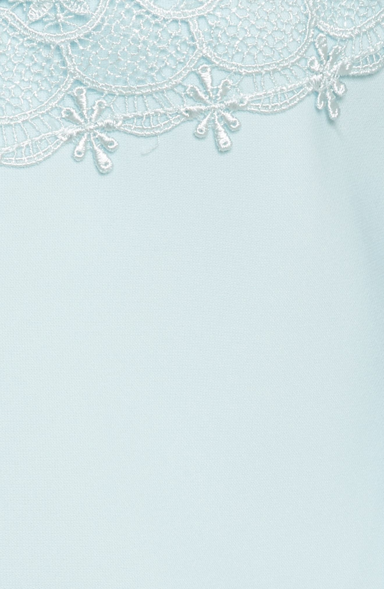 Raechal Lace Sleeve A-Line Dress,                             Alternate thumbnail 5, color,                             451