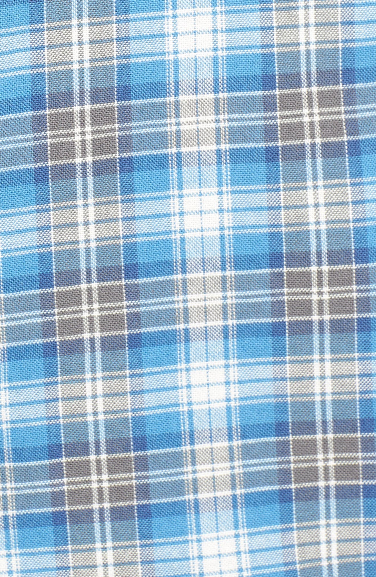 Voyager Plaid Sport Shirt,                             Alternate thumbnail 10, color,