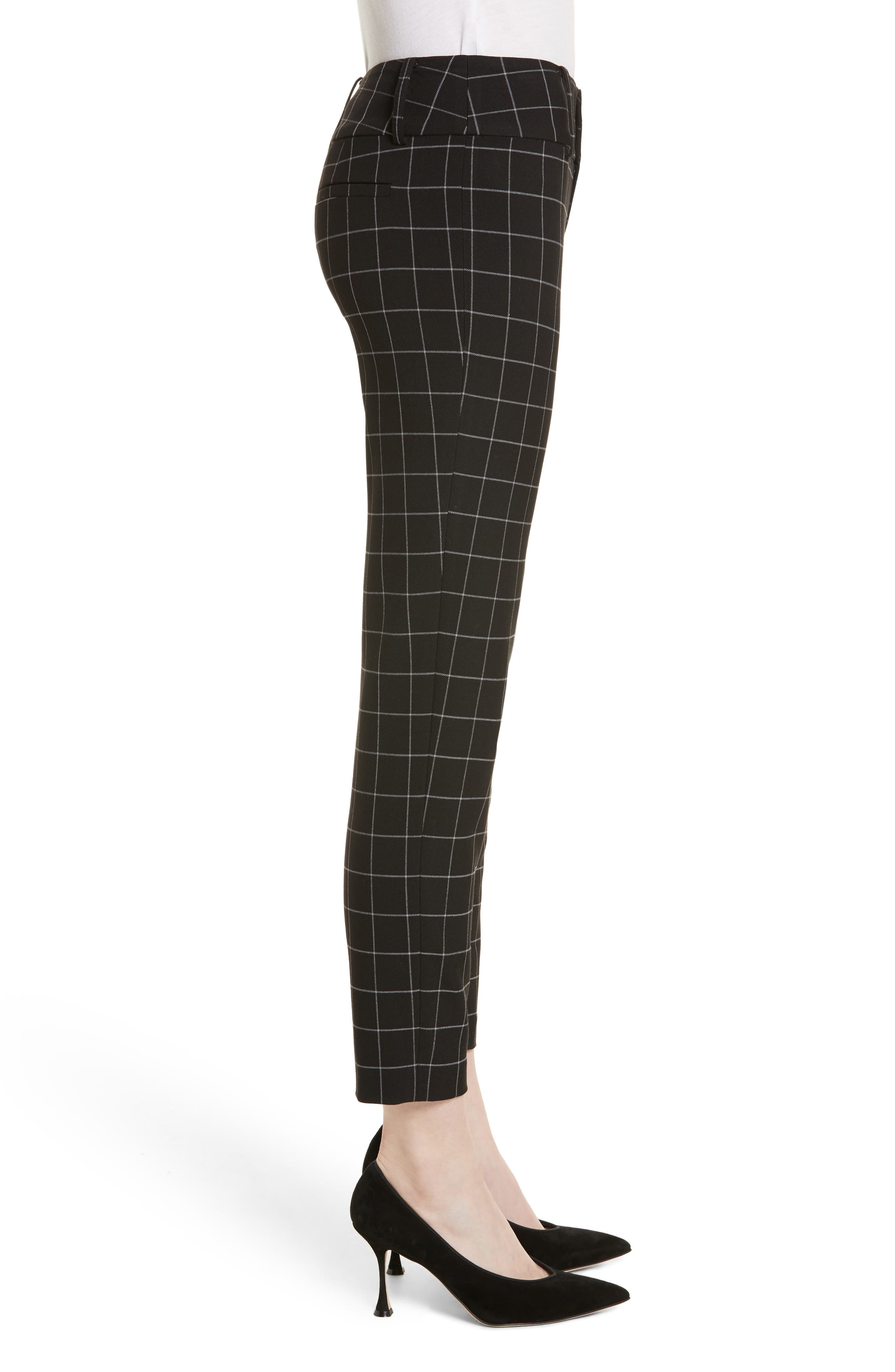 Stacey Slim Ankle Pants,                             Alternate thumbnail 3, color,                             009