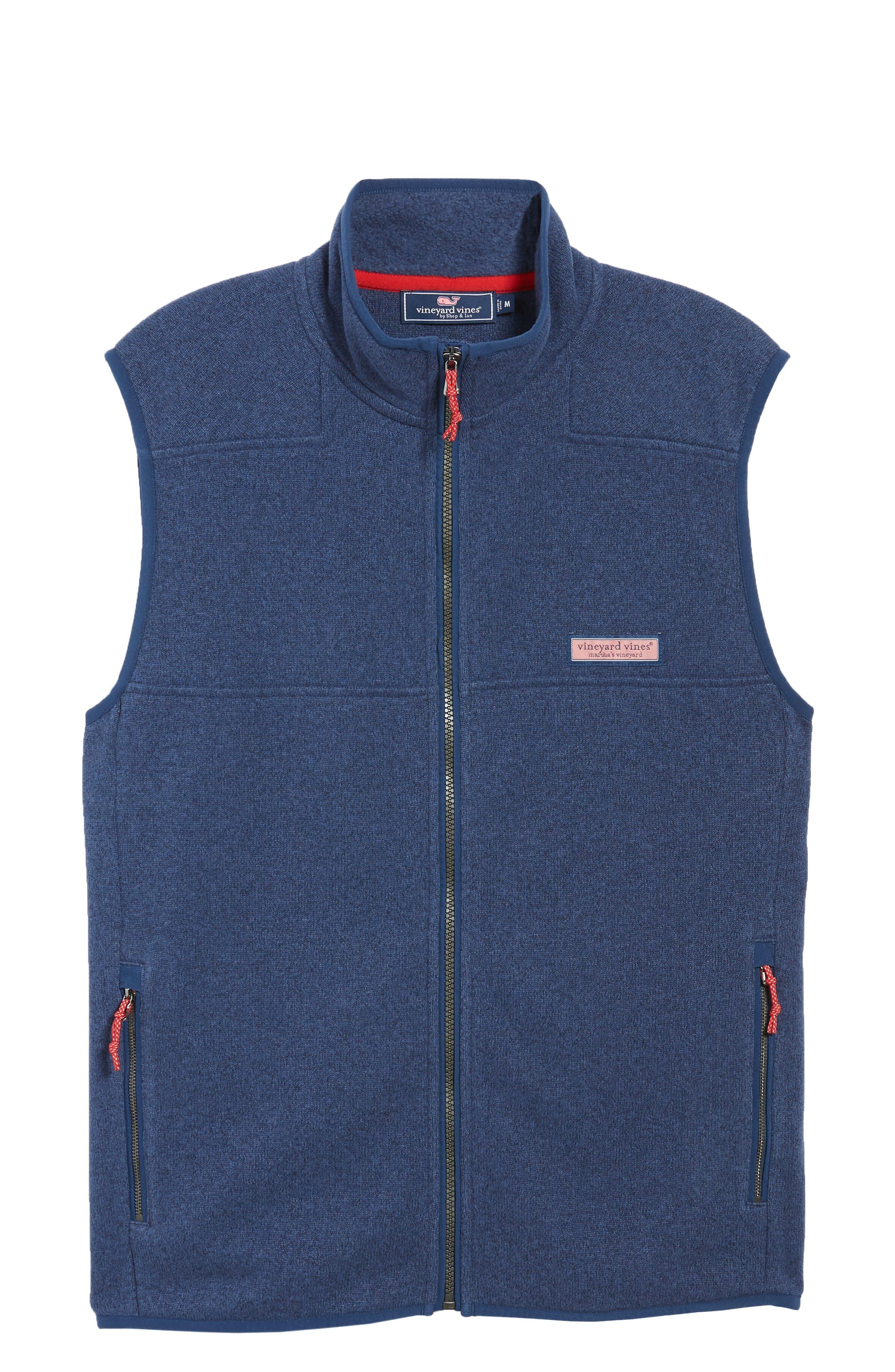 Fleece Vest,                             Alternate thumbnail 5, color,                             DEEP BAY