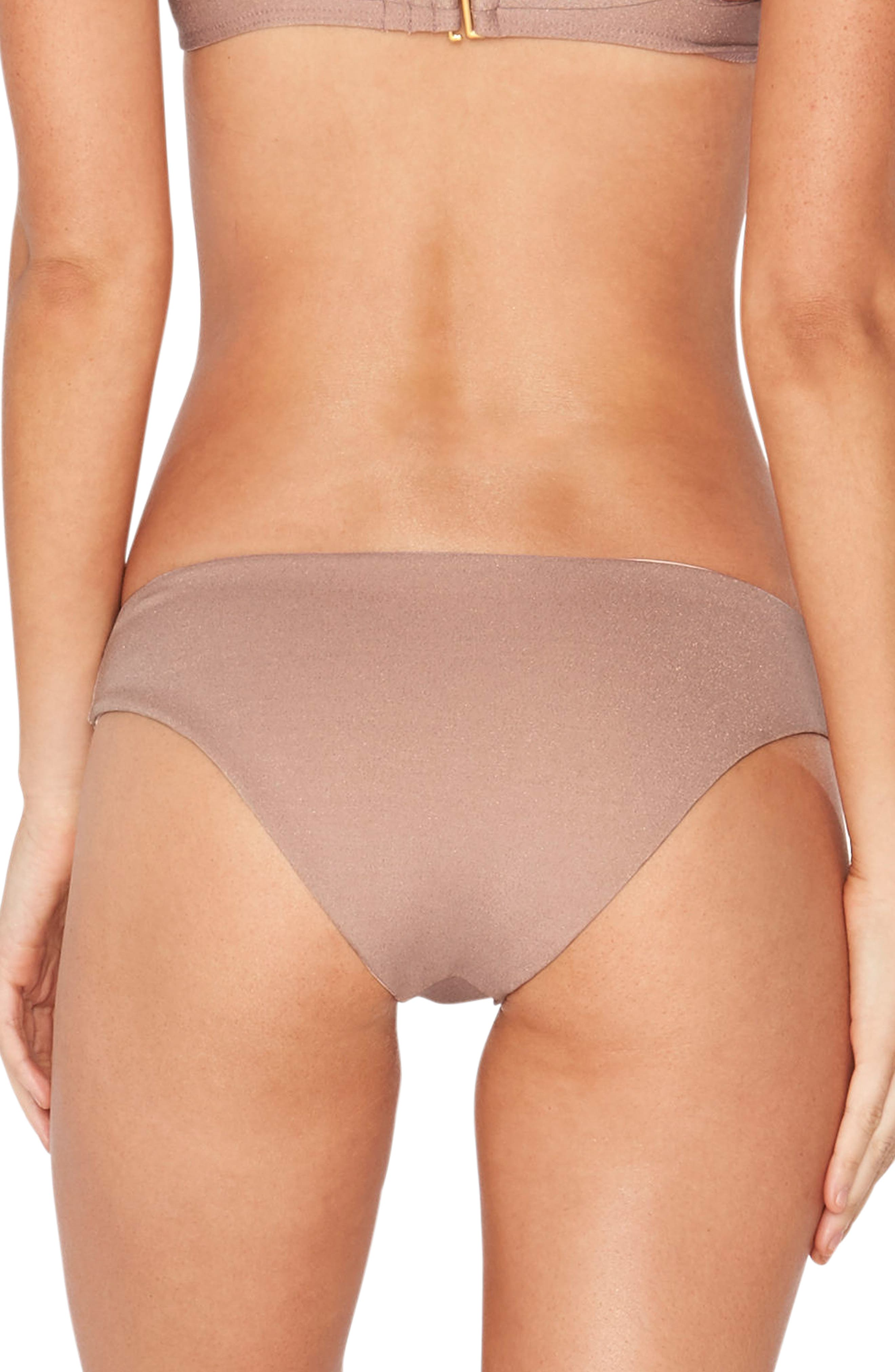 Sandy Shine on Me Metallic Bikini Bottoms,                             Main thumbnail 2, color,
