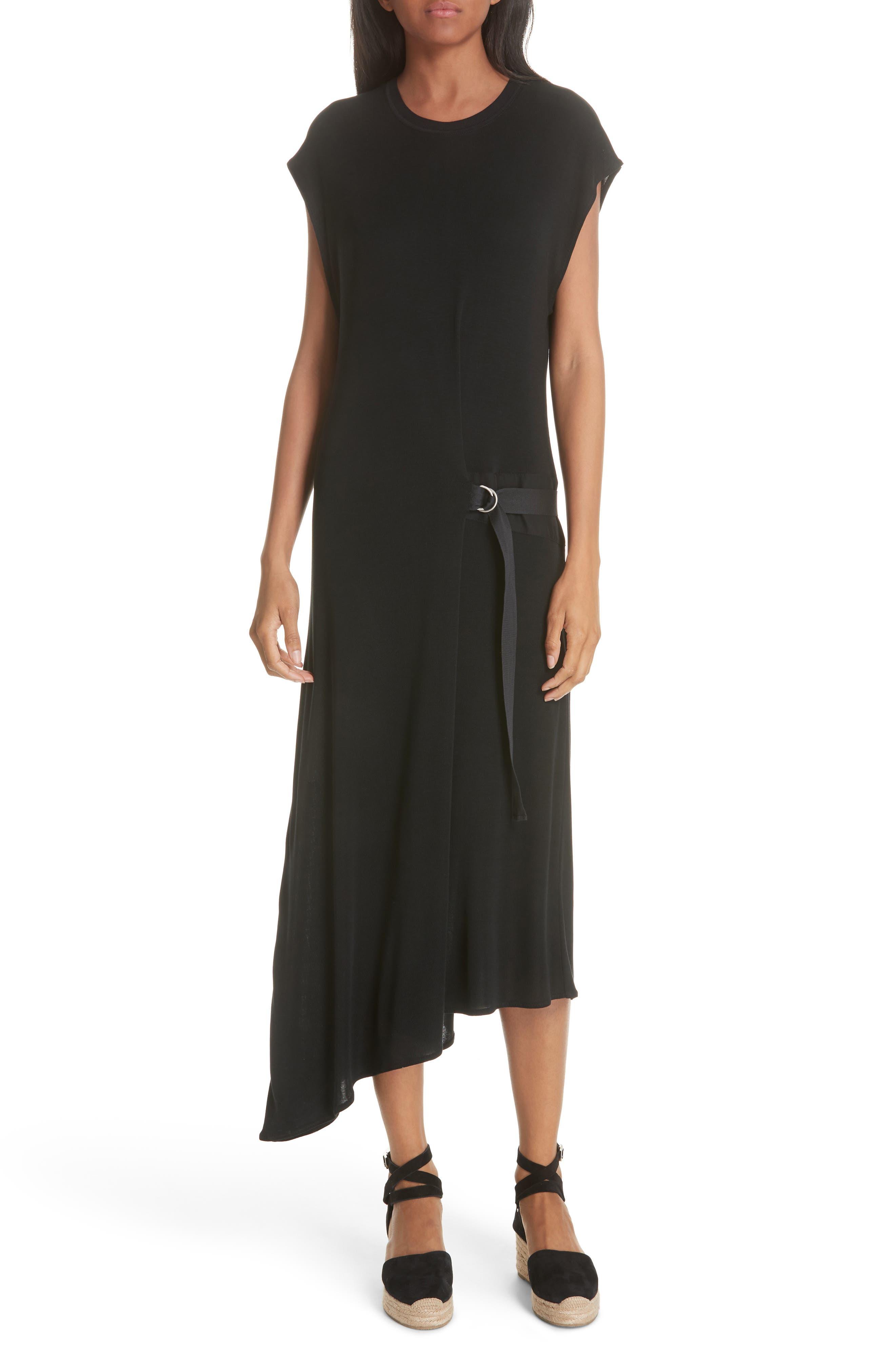 Ophelia Asymmetrical Dress, Main, color, 001