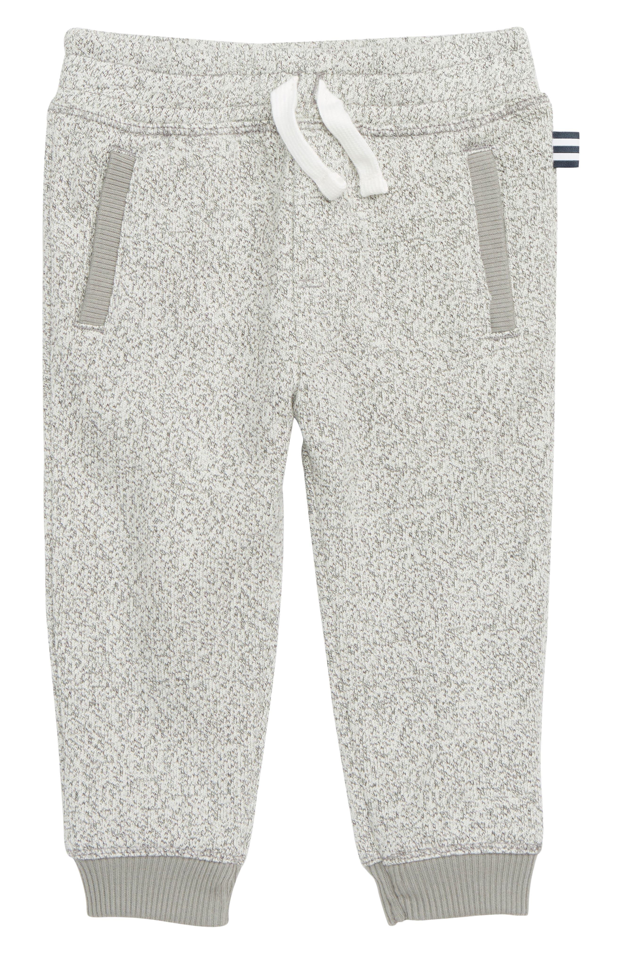 Marled Fleece Jogger Pants,                             Main thumbnail 1, color,                             FLINT GRAY