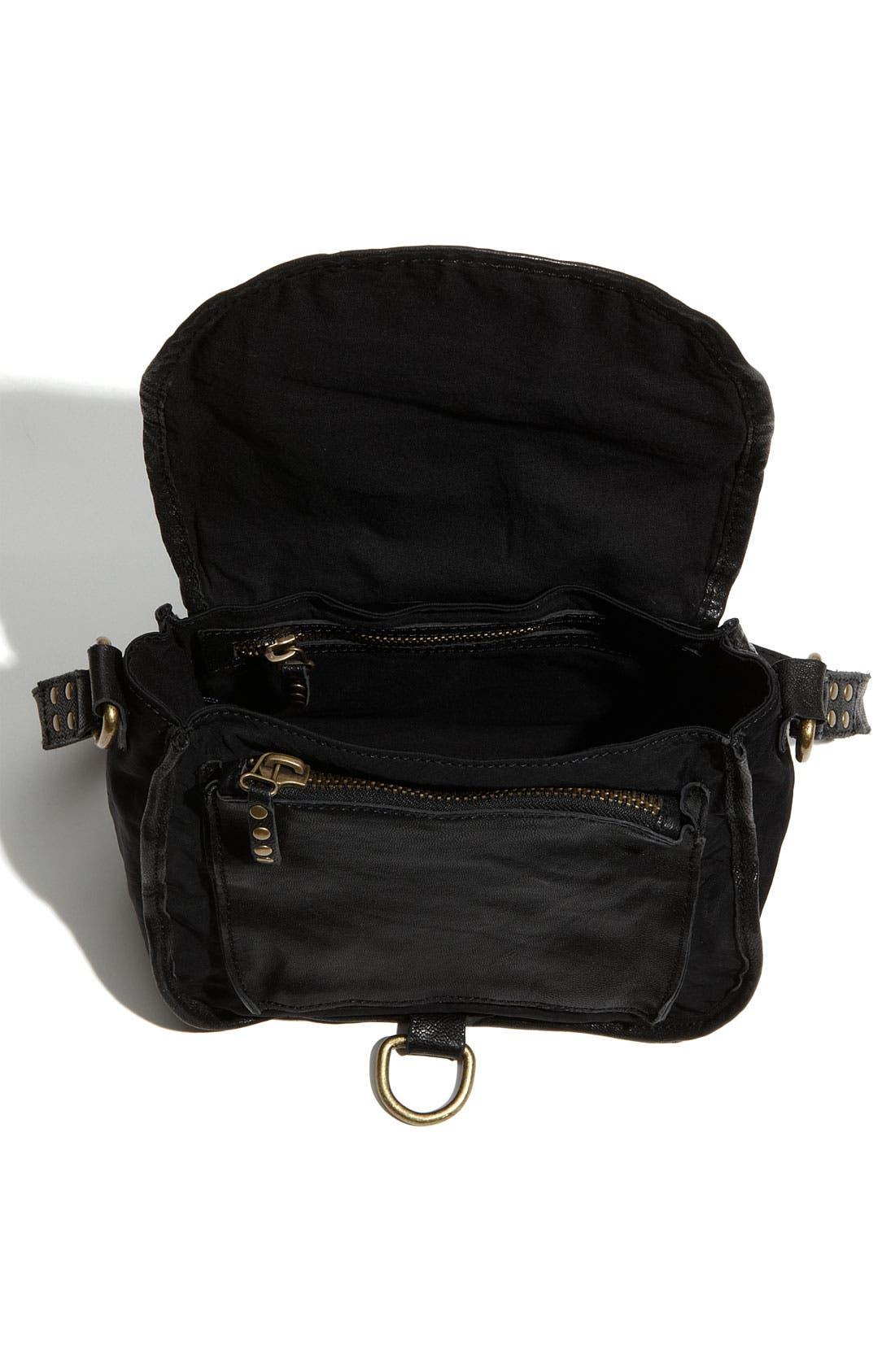 M20,                             'Marco' Fabric Mini Bag,                             Alternate thumbnail 4, color,                             001