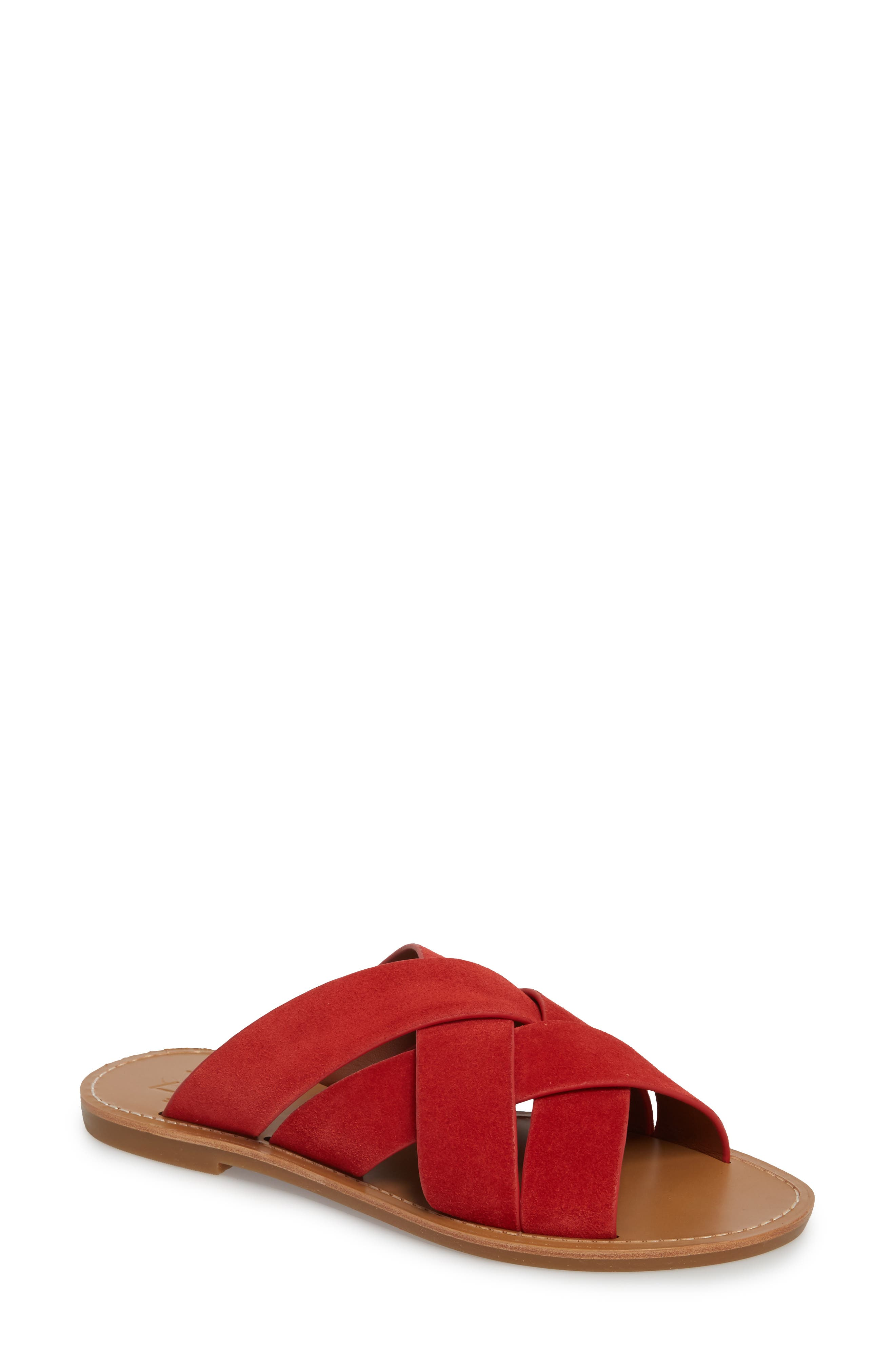 Raida Slide Sandal,                             Main thumbnail 4, color,