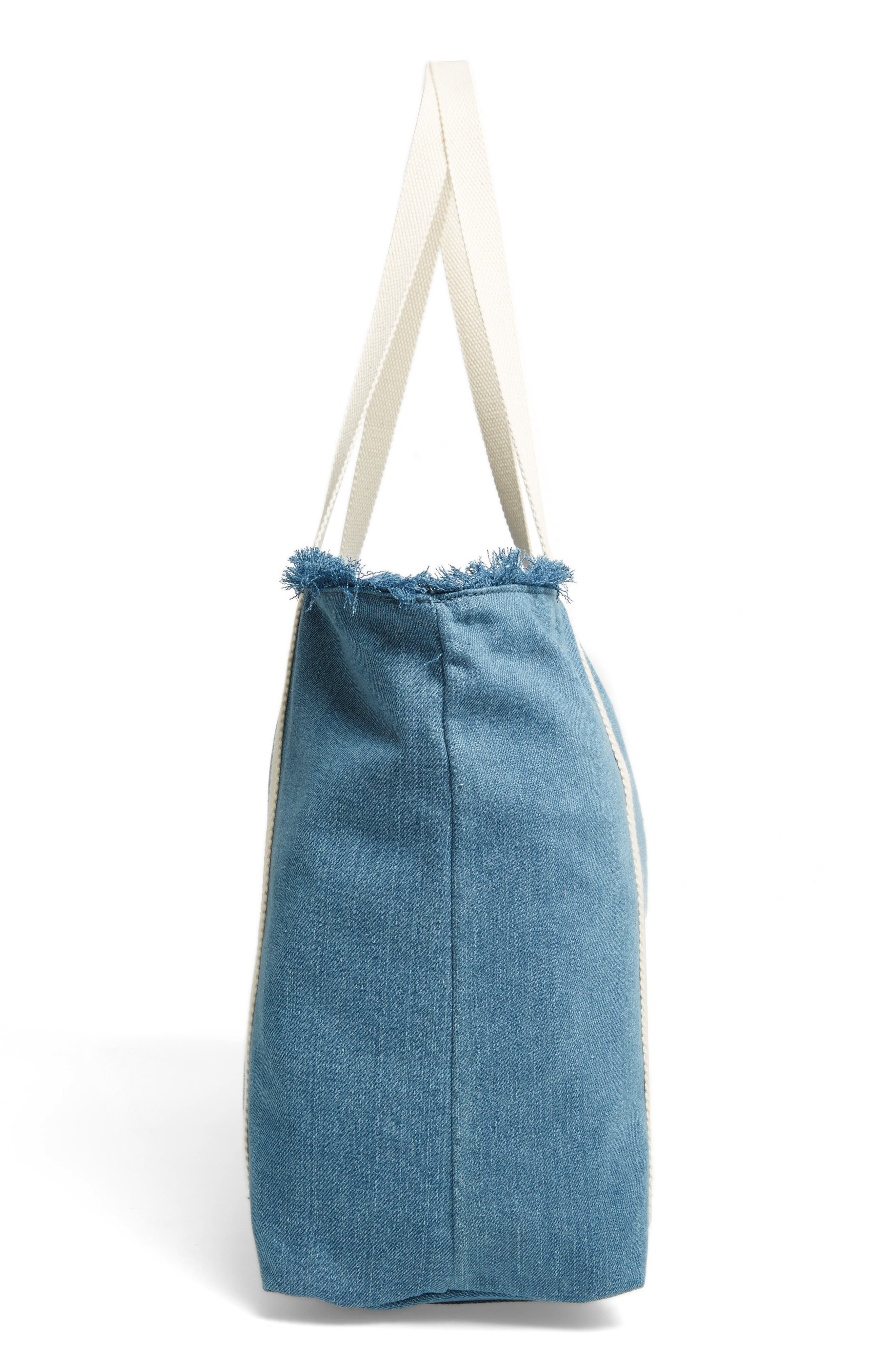 Canvas Tote,                             Alternate thumbnail 5, color,                             400