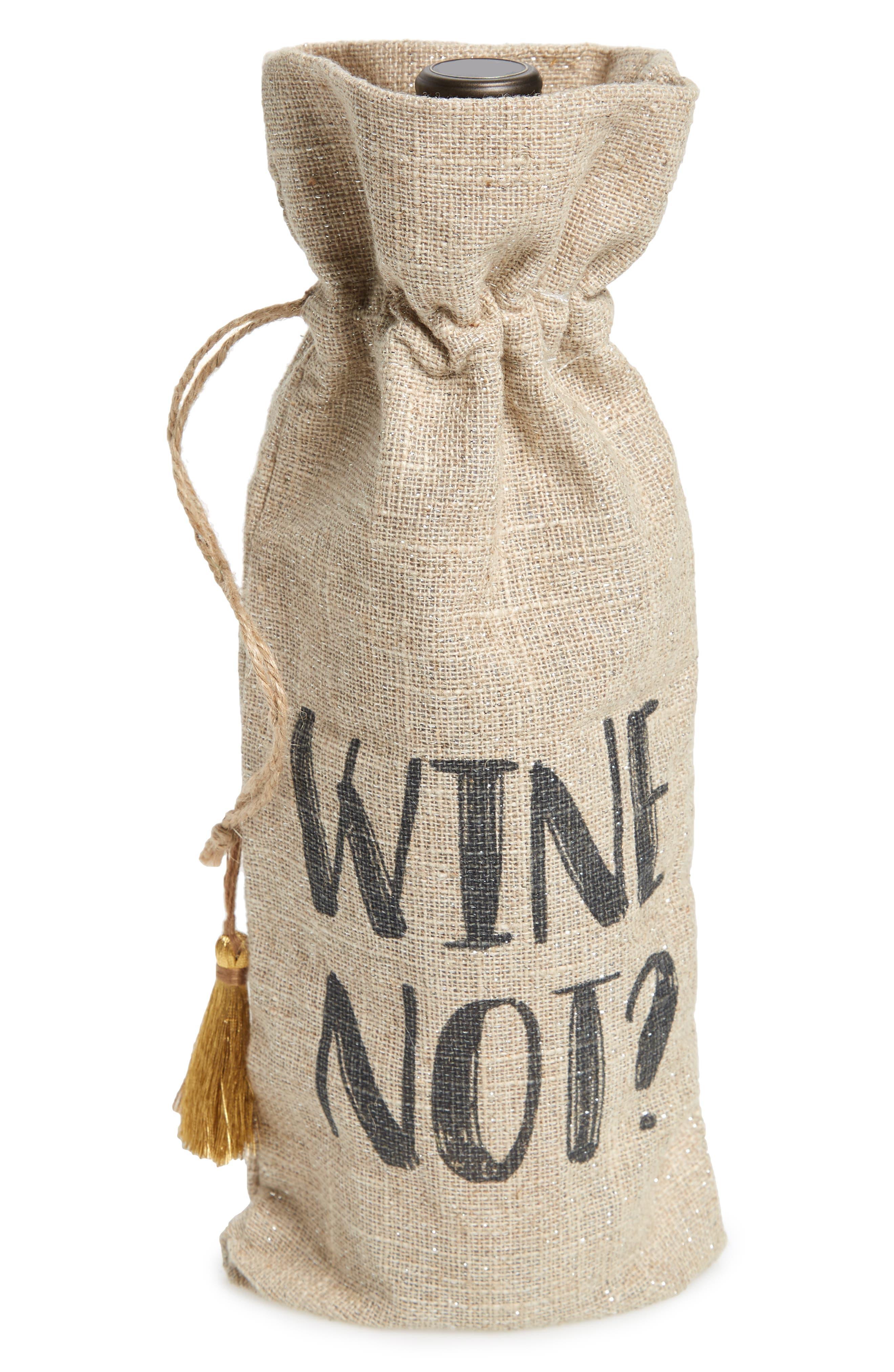 Wine Not Wine Bag,                             Main thumbnail 1, color,                             250