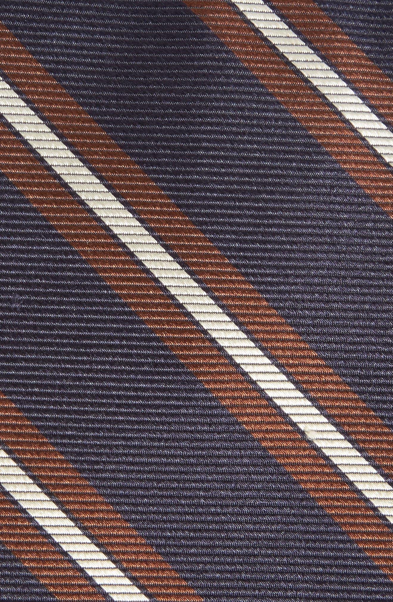 Stripe Silk Tie,                             Alternate thumbnail 2, color,                             400