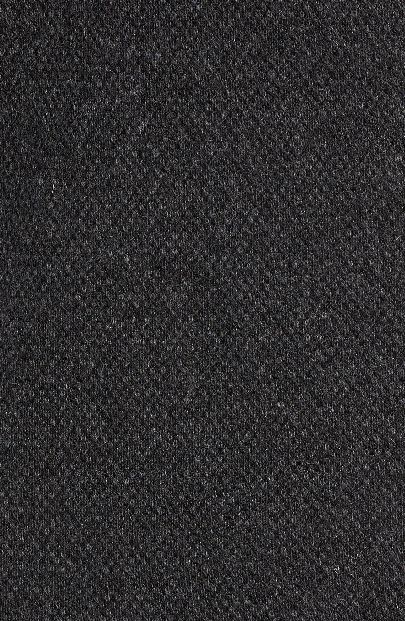 Hudson Trail Regular Fit Fleece Half-Zip Sweater,                             Alternate thumbnail 5, color,                             020