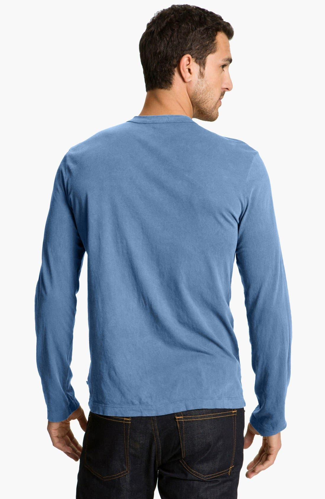 Long Sleeve Crewneck T-Shirt,                             Alternate thumbnail 52, color,