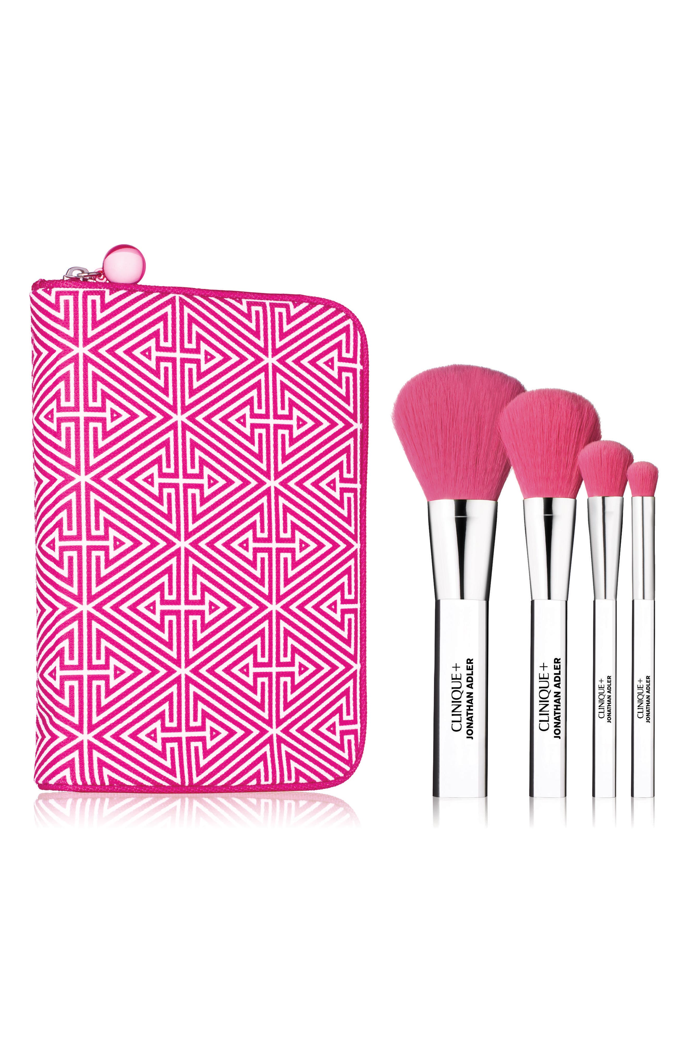 Jonathan Adler Luxe Brush Collection,                             Main thumbnail 1, color,                             000