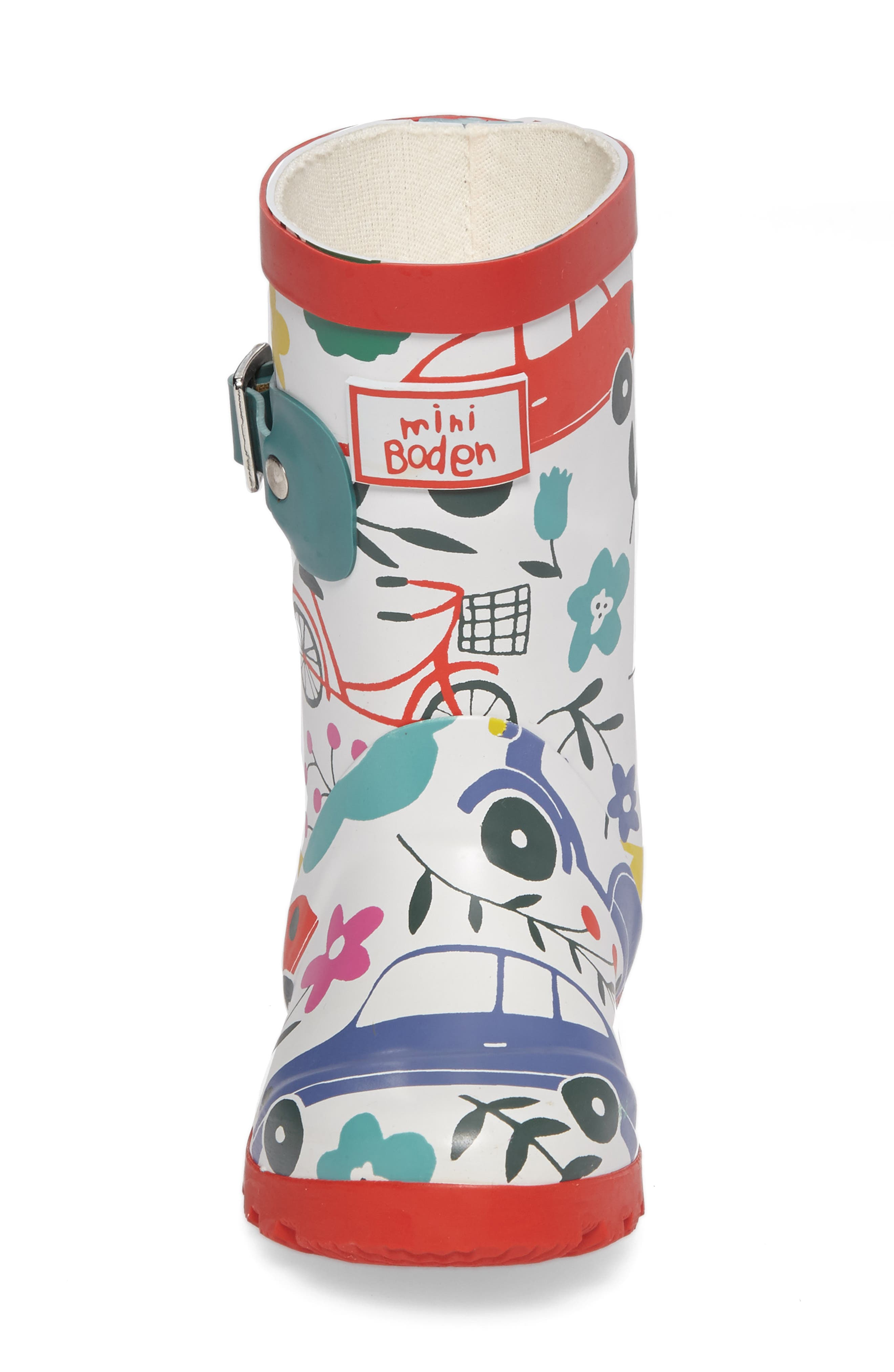 Printed Wellies,                             Alternate thumbnail 4, color,                             100