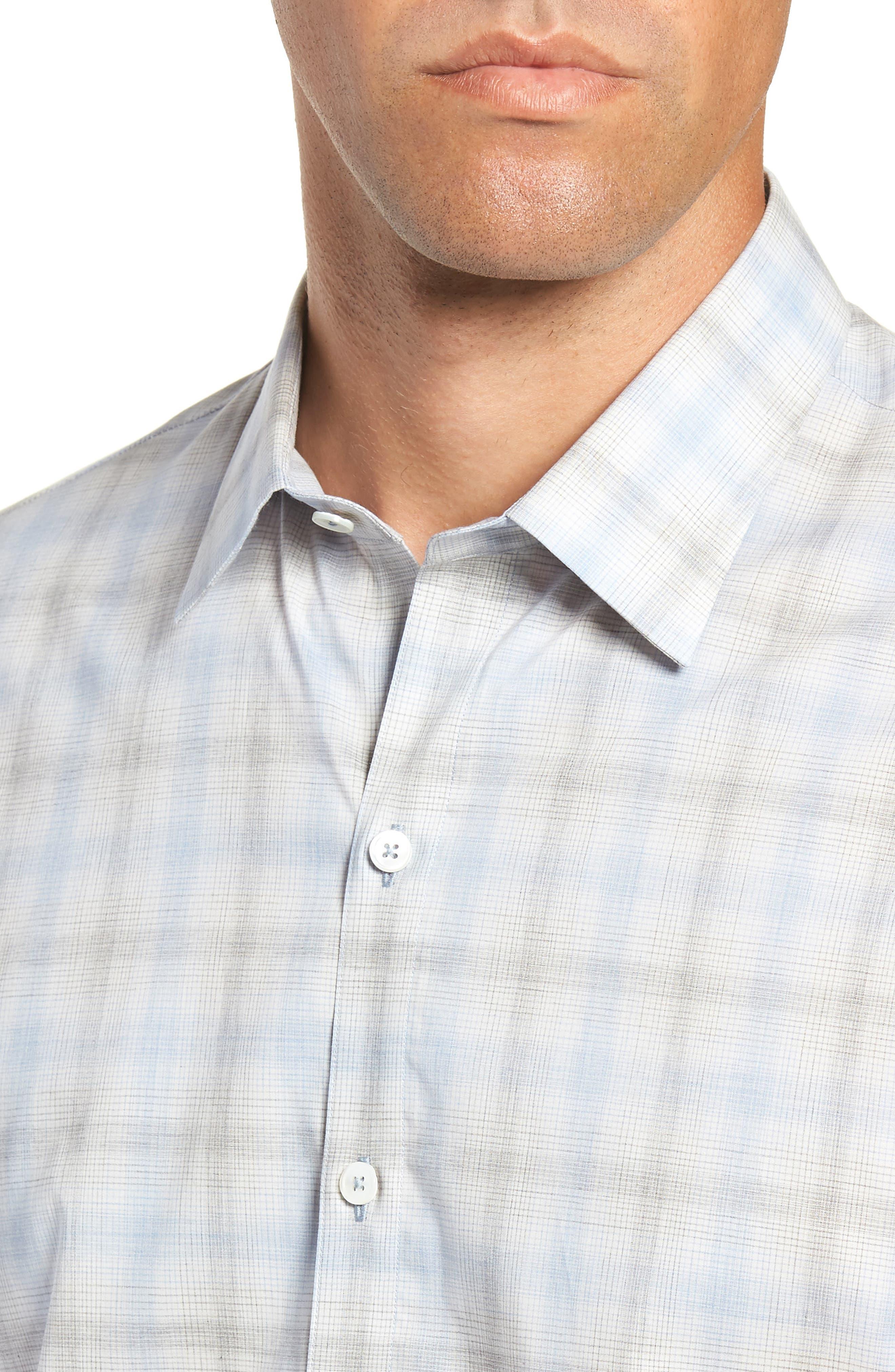 Mourad Regular Fit Sport Shirt,                             Alternate thumbnail 2, color,                             LIGHT GREY