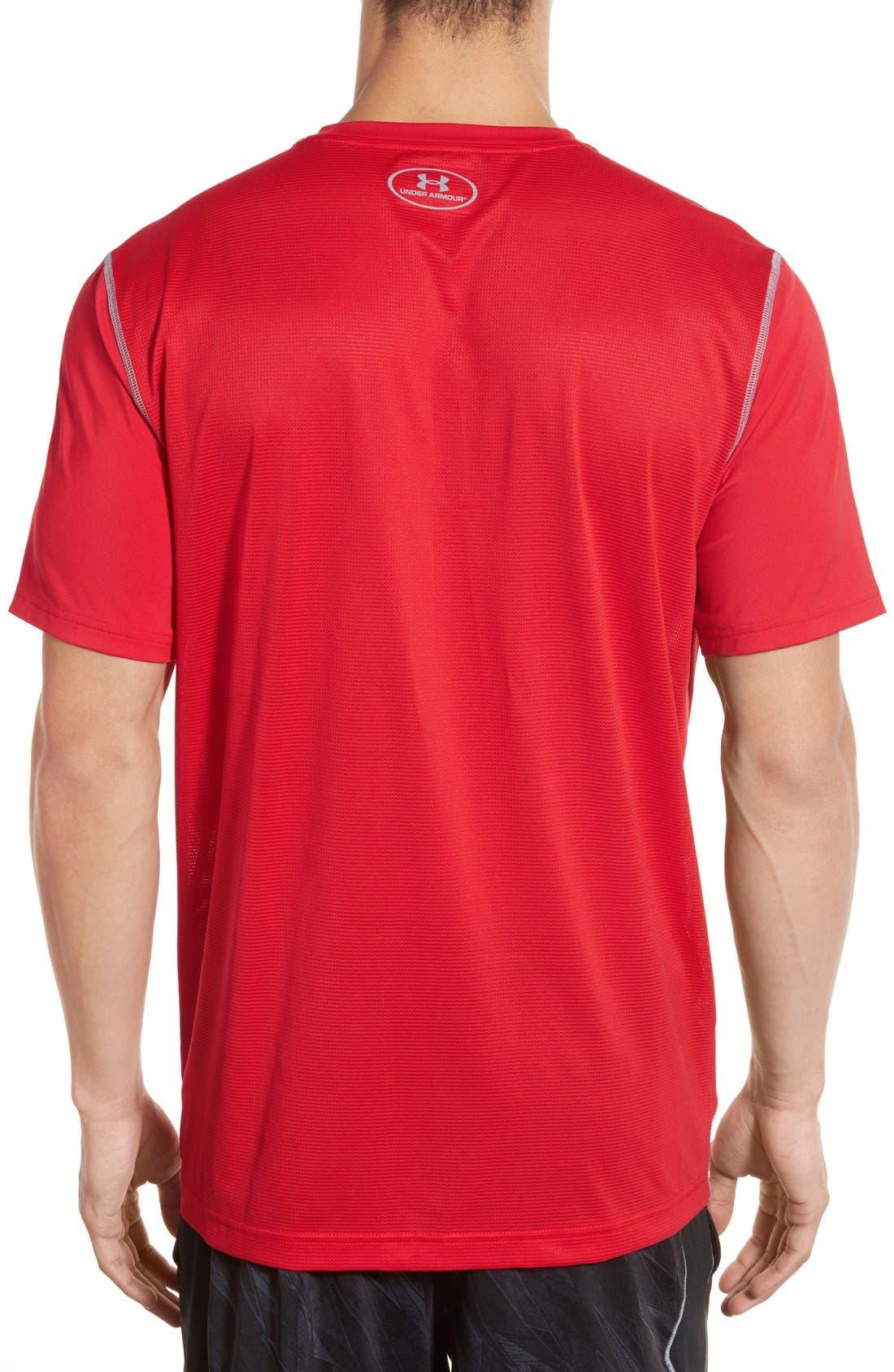 'Raid' HeatGear<sup>®</sup> Training T-Shirt,                             Alternate thumbnail 73, color,