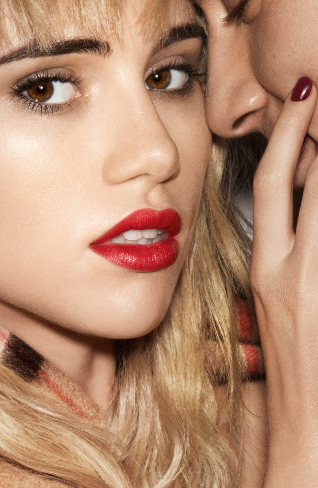 Burberry Kisses Lipstick,                             Alternate thumbnail 3, color,                             605