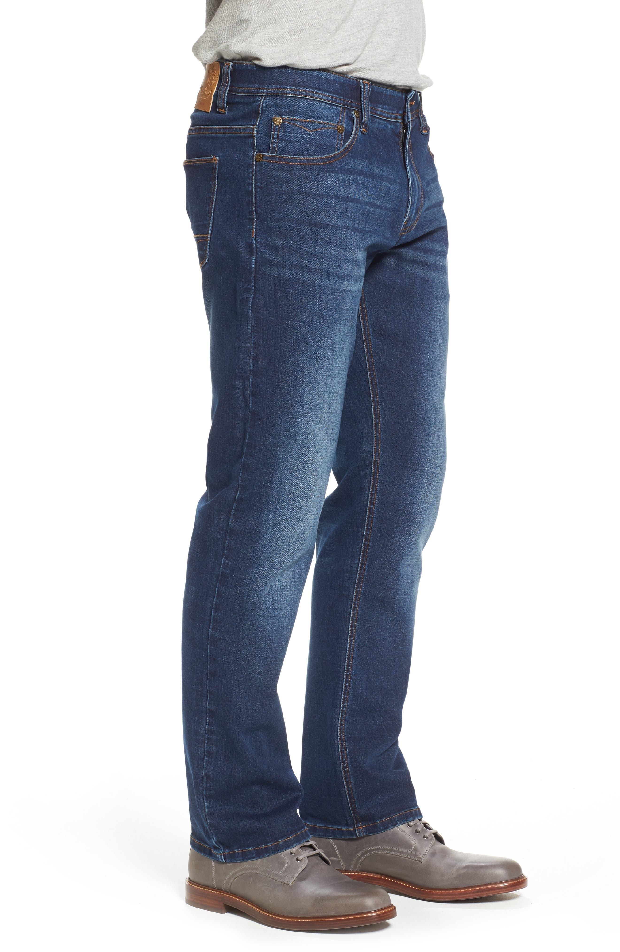 Maverick Stretch Slim Fit Jeans,                             Alternate thumbnail 3, color,                             400