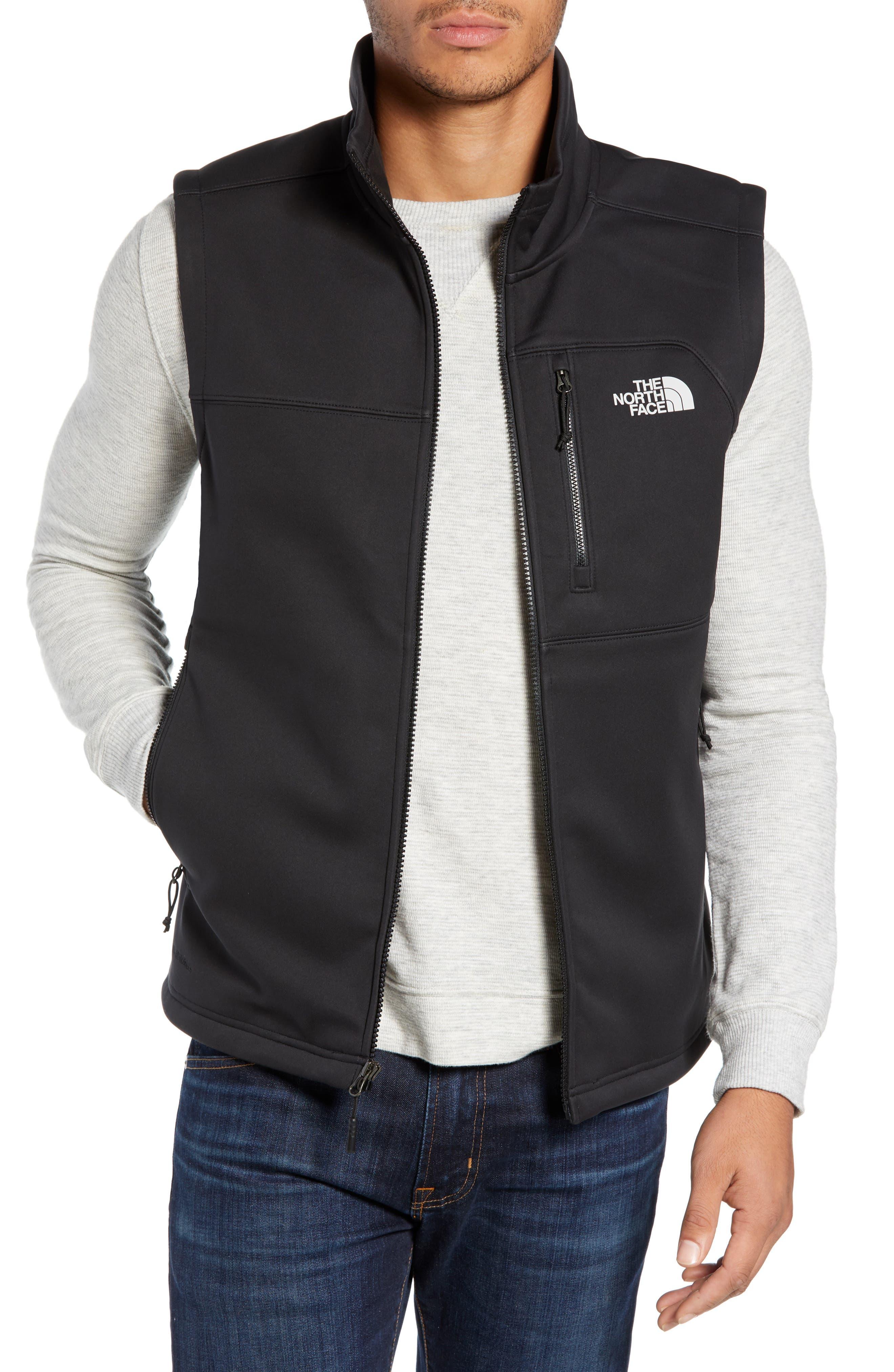 Apex Risor Vest,                             Main thumbnail 1, color,                             TNF BLACK/ TNF BLACK