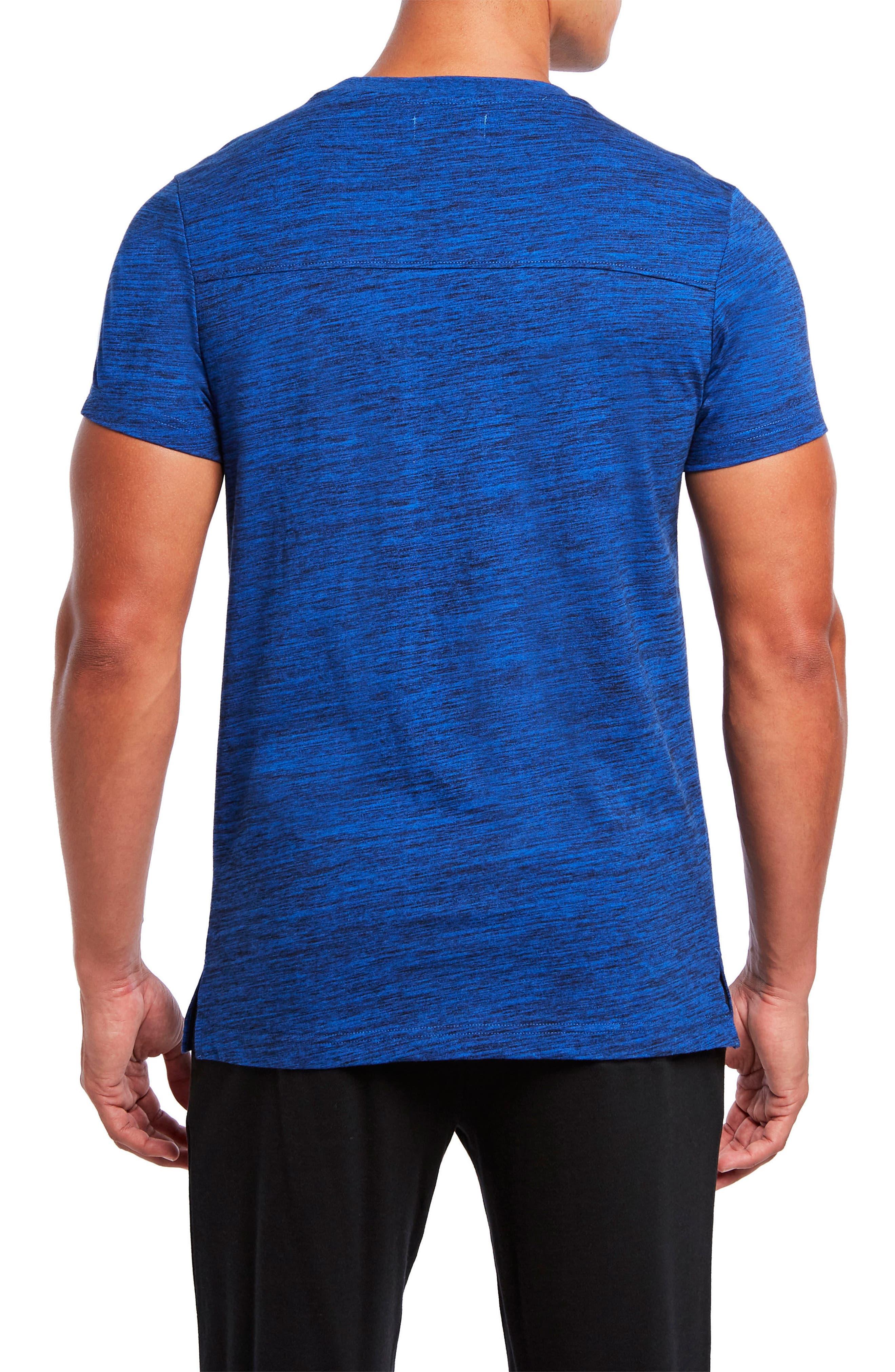 Static Crewneck Cotton T-Shirt,                             Alternate thumbnail 4, color,