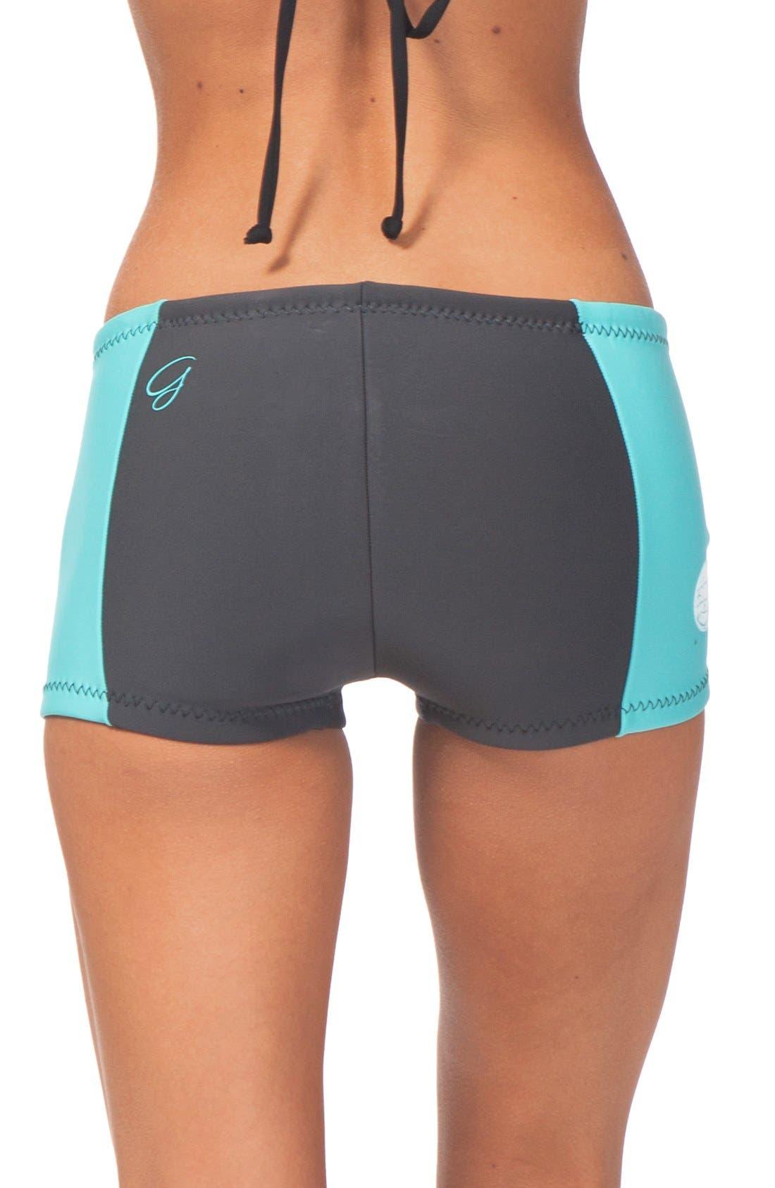 'G Bomb' Swim Shorts,                             Alternate thumbnail 10, color,