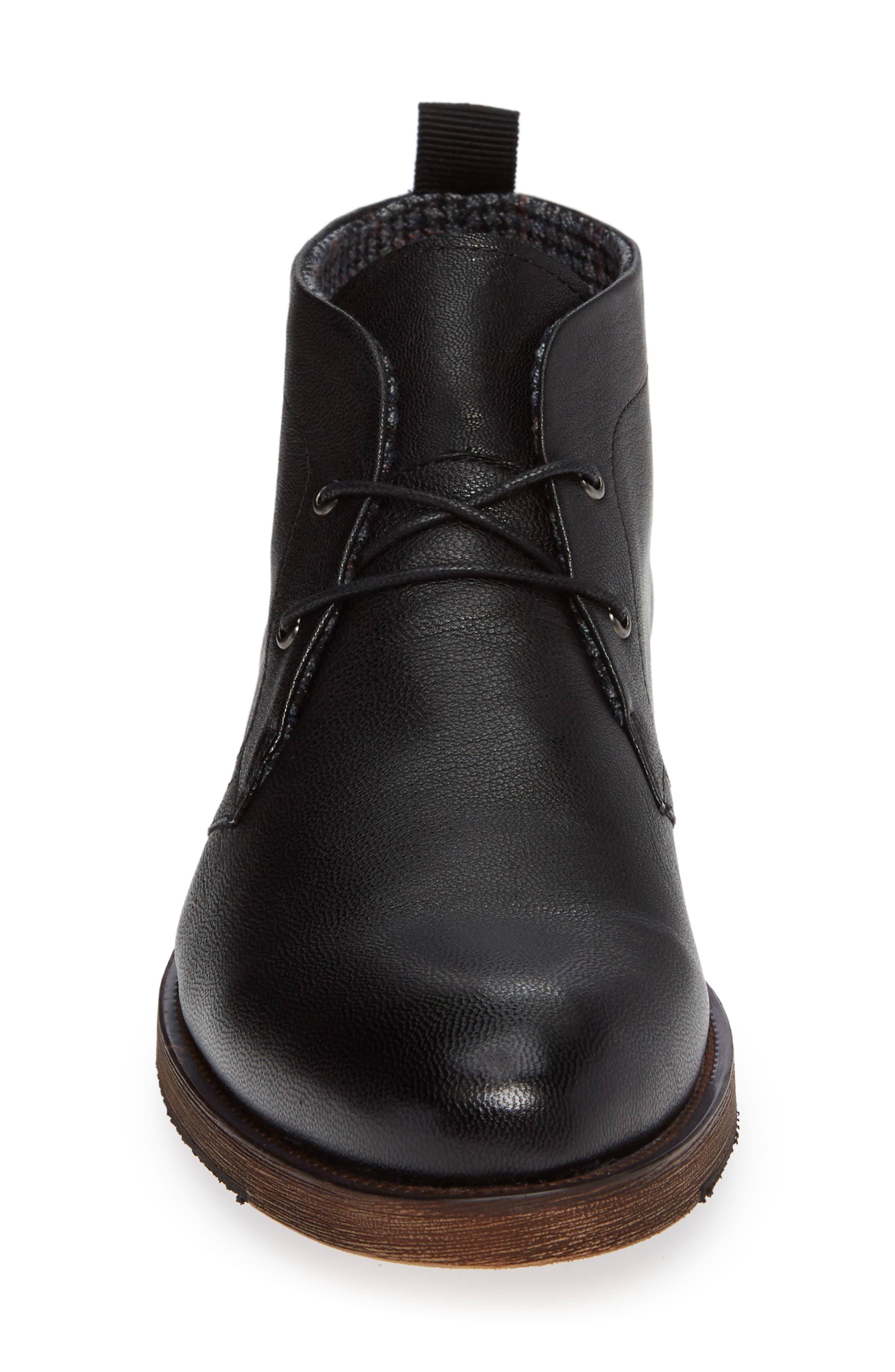 Sheffield Chukka Boot,                             Alternate thumbnail 4, color,                             BLACK