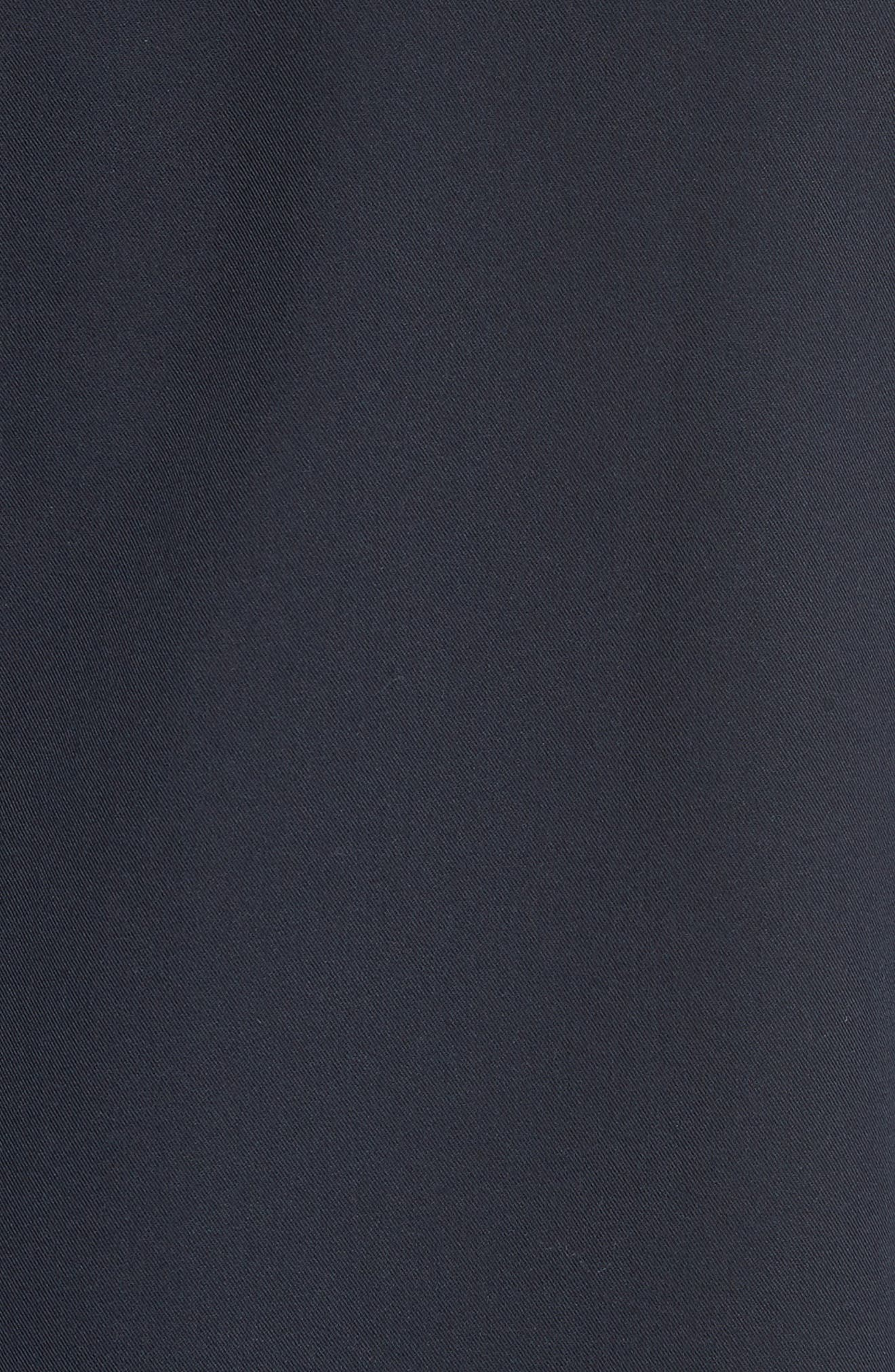 Gabardine Zip Shirt Jacket,                             Alternate thumbnail 5, color,