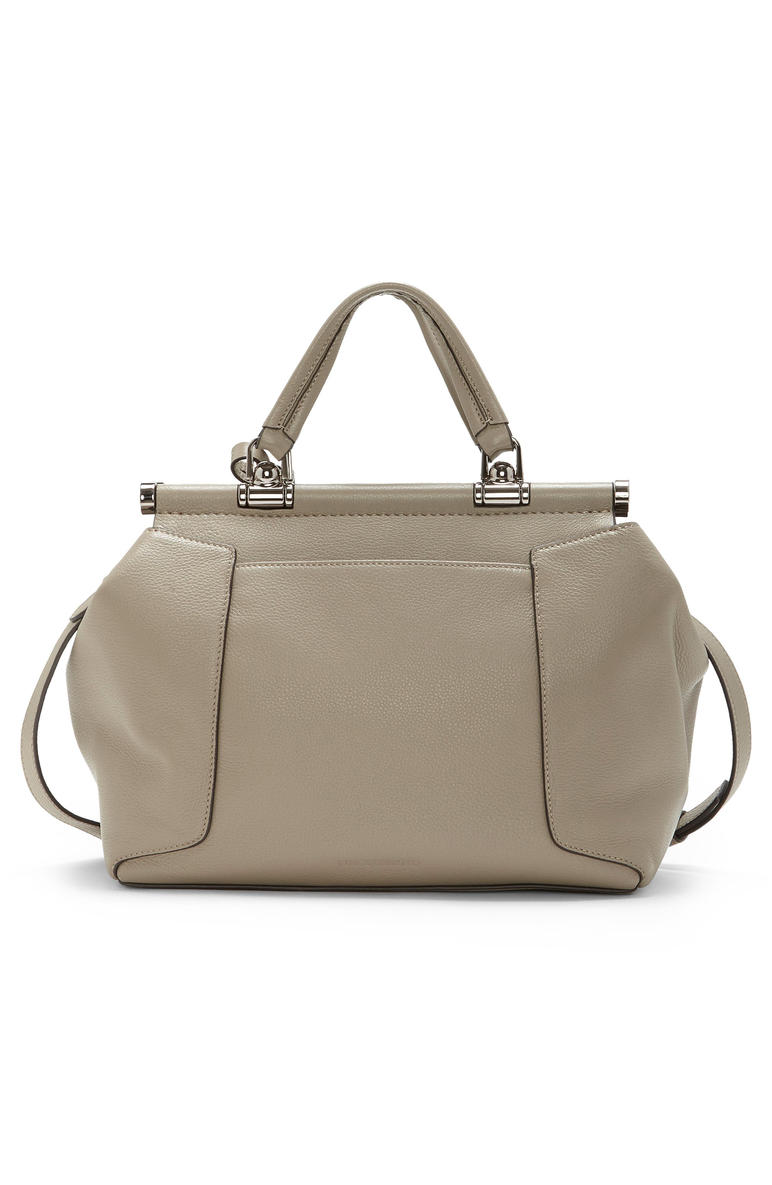 Carla Leather Satchel,                             Alternate thumbnail 2, color,                             060