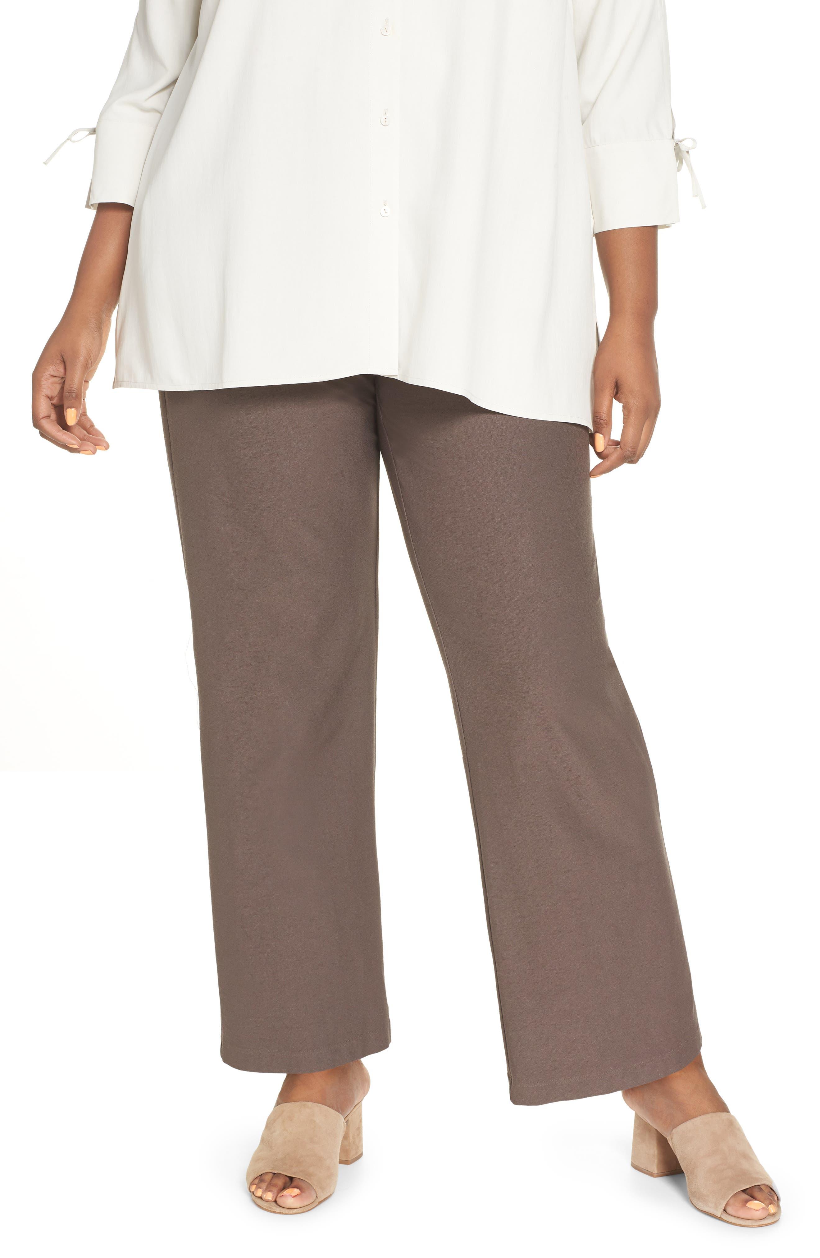 High Rise Straight Leg Knit Pants,                         Main,                         color, 273