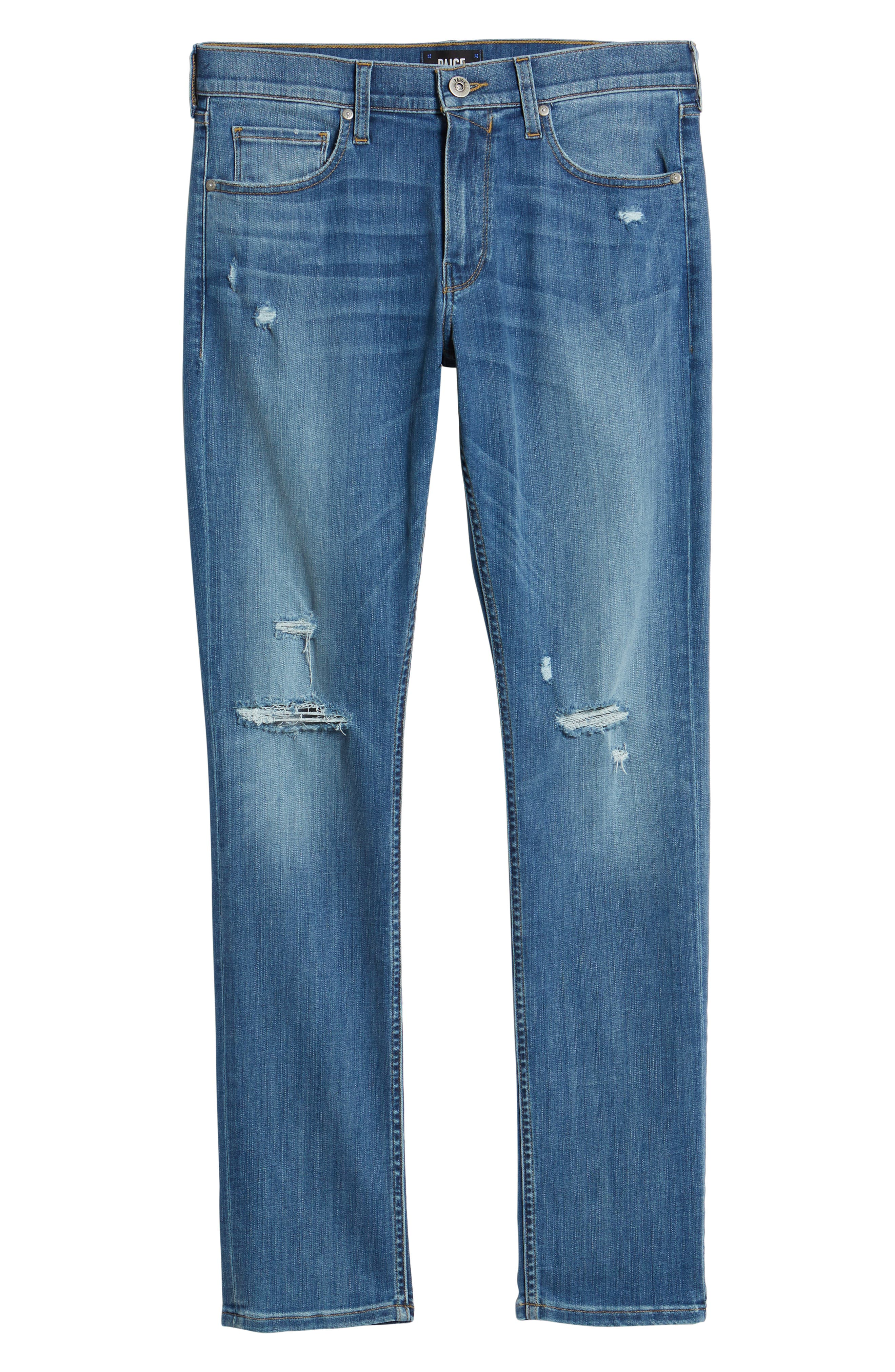Federal Slim Straight Fit Jeans,                             Alternate thumbnail 6, color,                             660