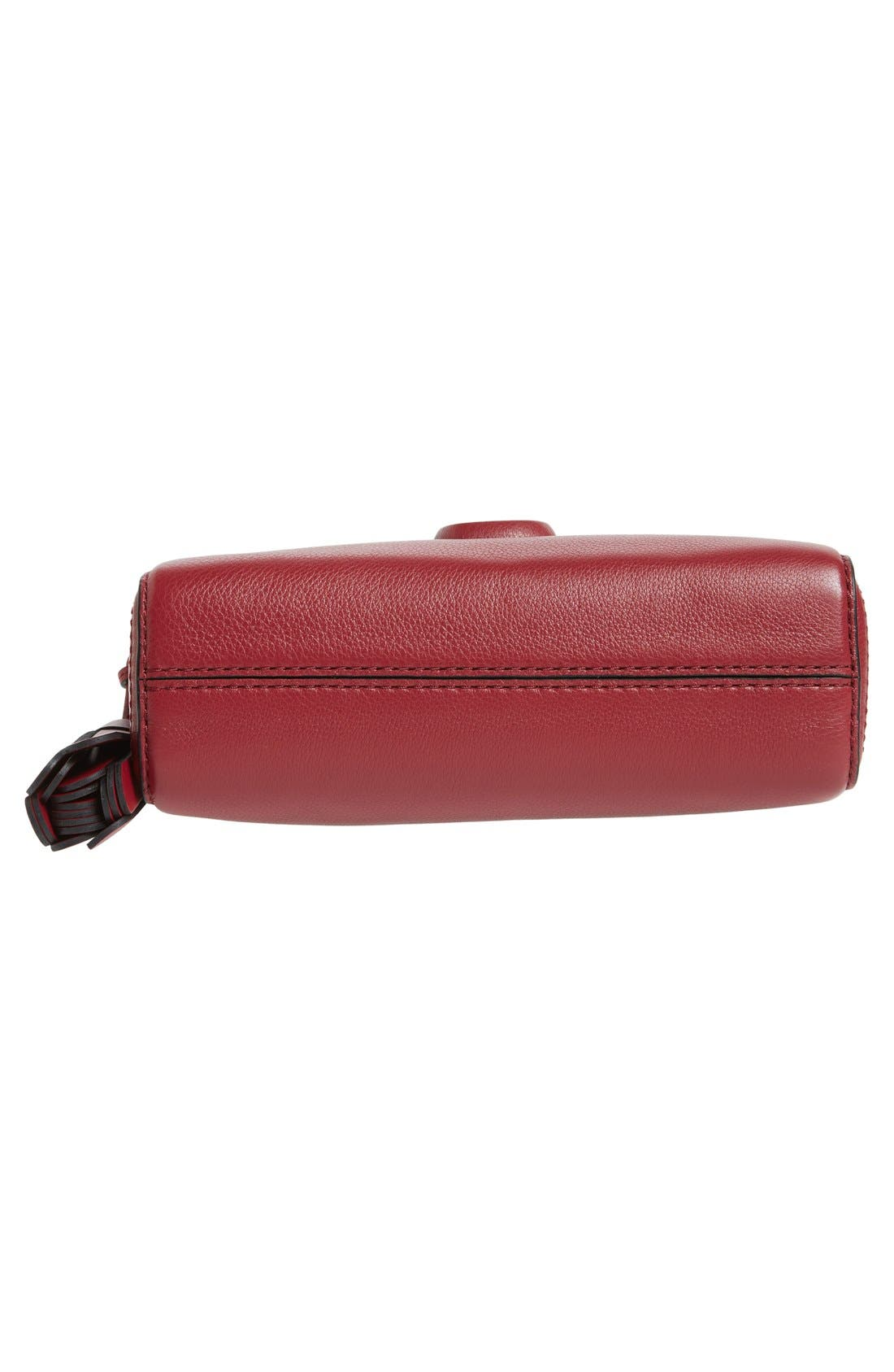 Small Shutter Leather Camera Bag,                             Alternate thumbnail 36, color,