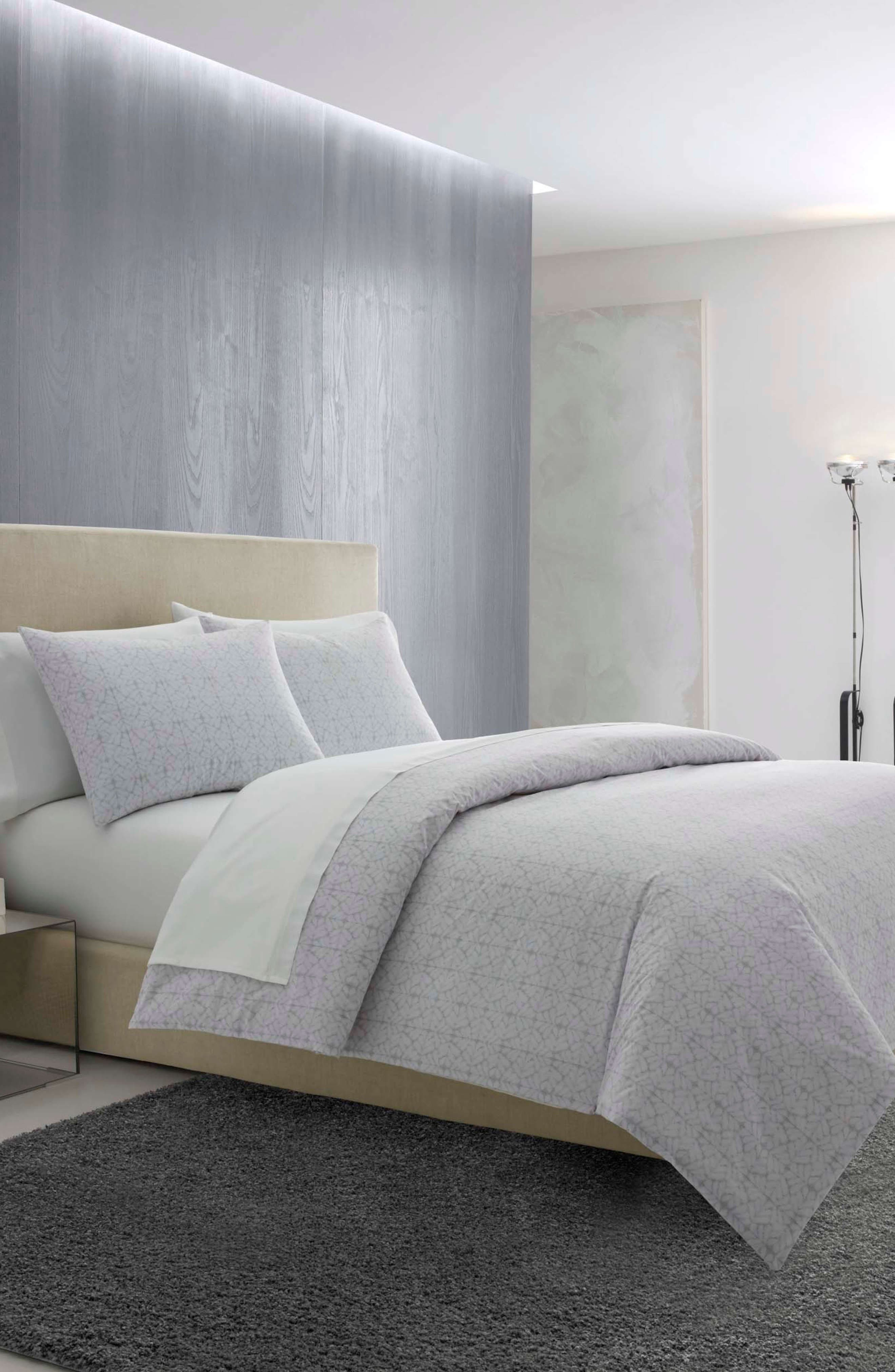 Mirrored Squares Comforter & Sham Set,                             Alternate thumbnail 3, color,                             095