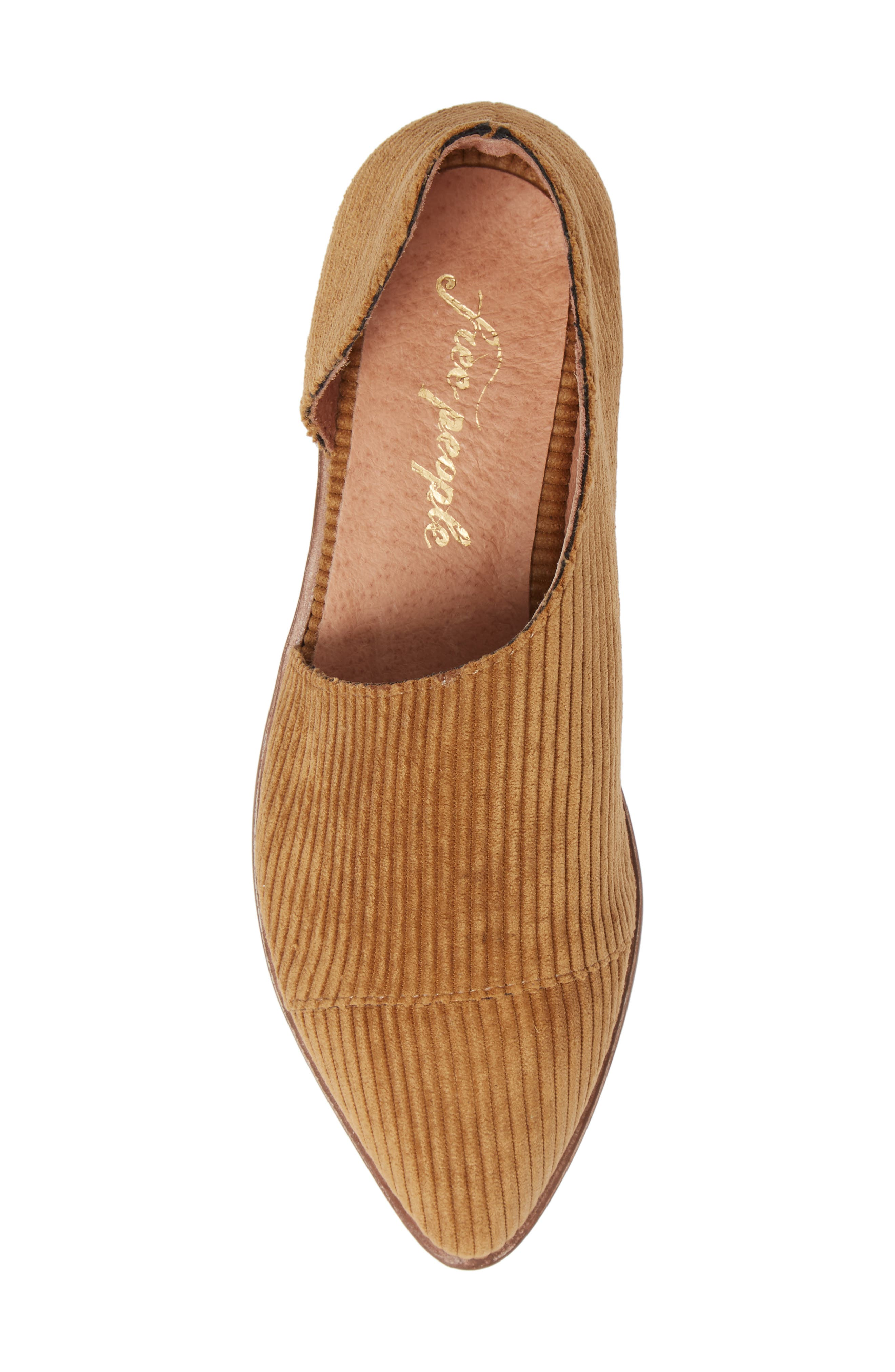 'Royale' Pointy Toe Flat,                             Alternate thumbnail 5, color,                             GOLD