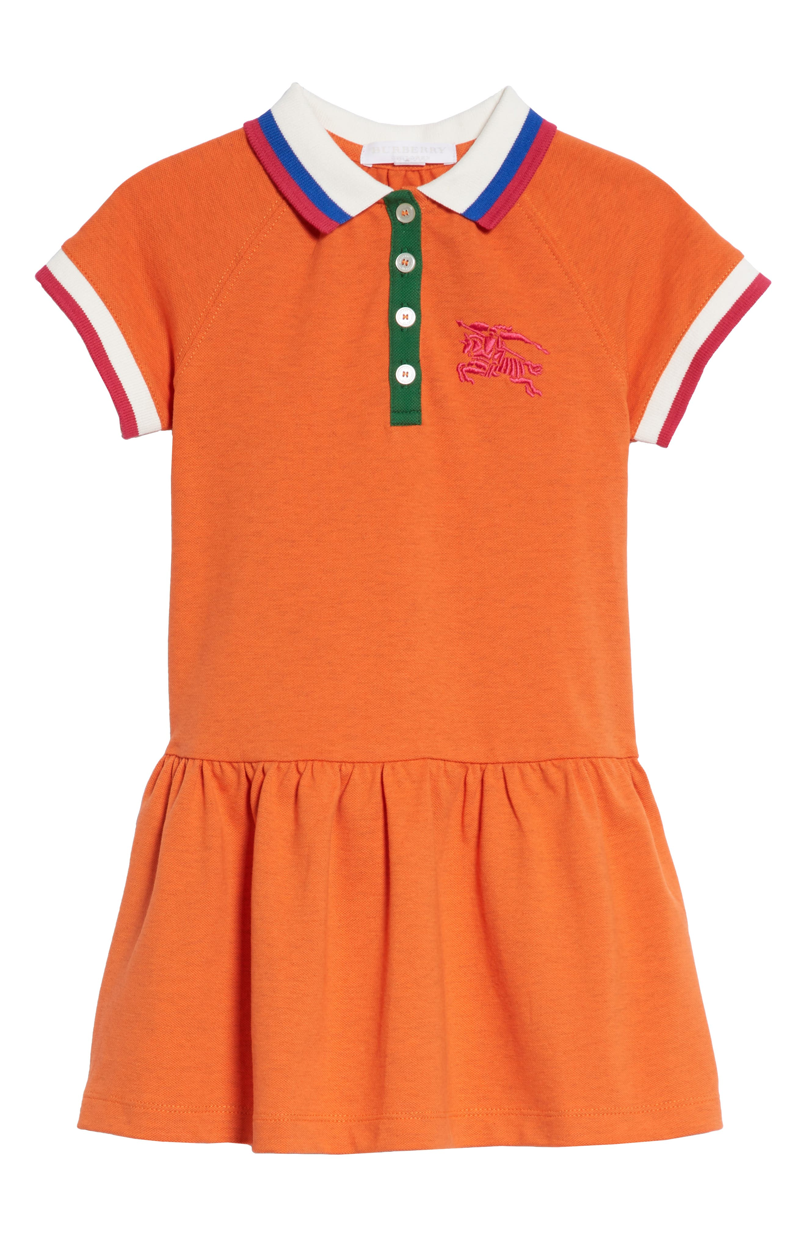 Burbery Cali Polo Dress,                             Main thumbnail 1, color,                             820