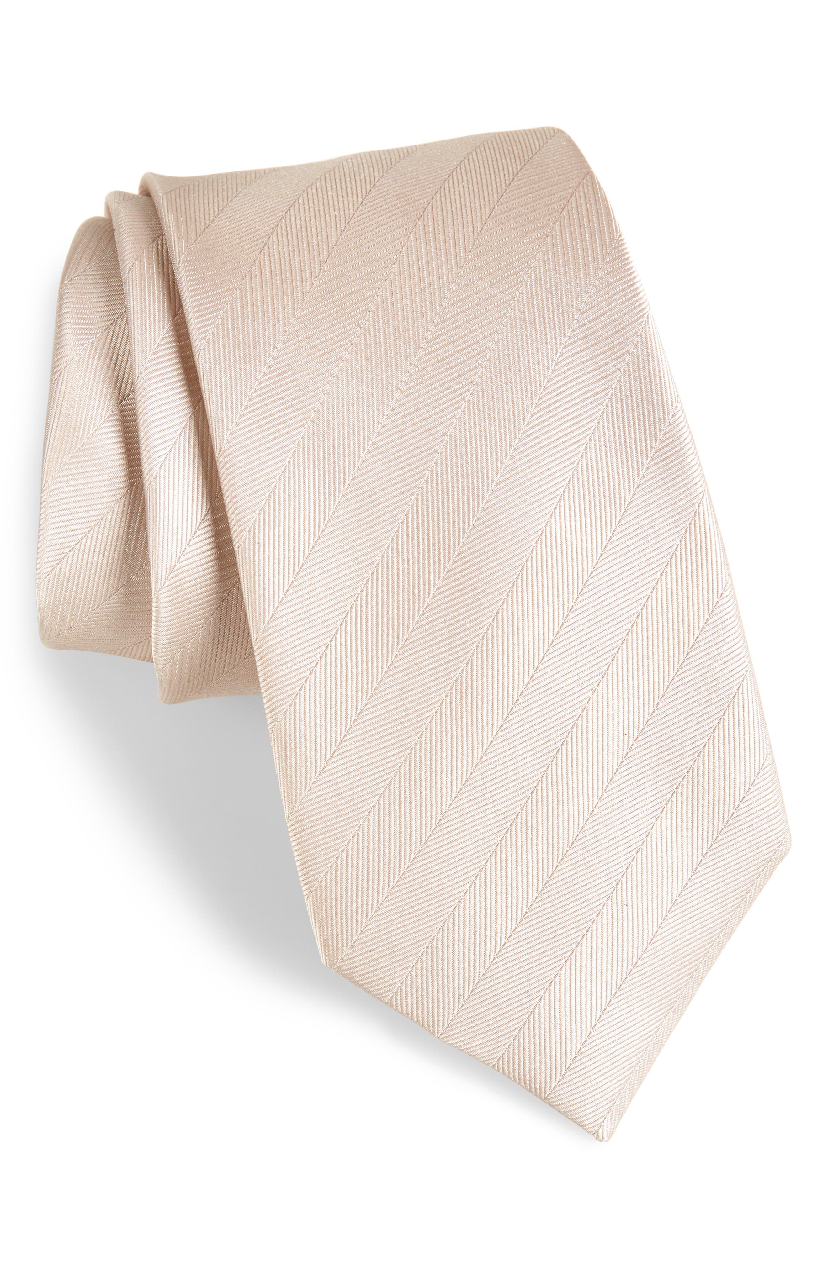 Herringbone Silk Tie,                             Main thumbnail 6, color,