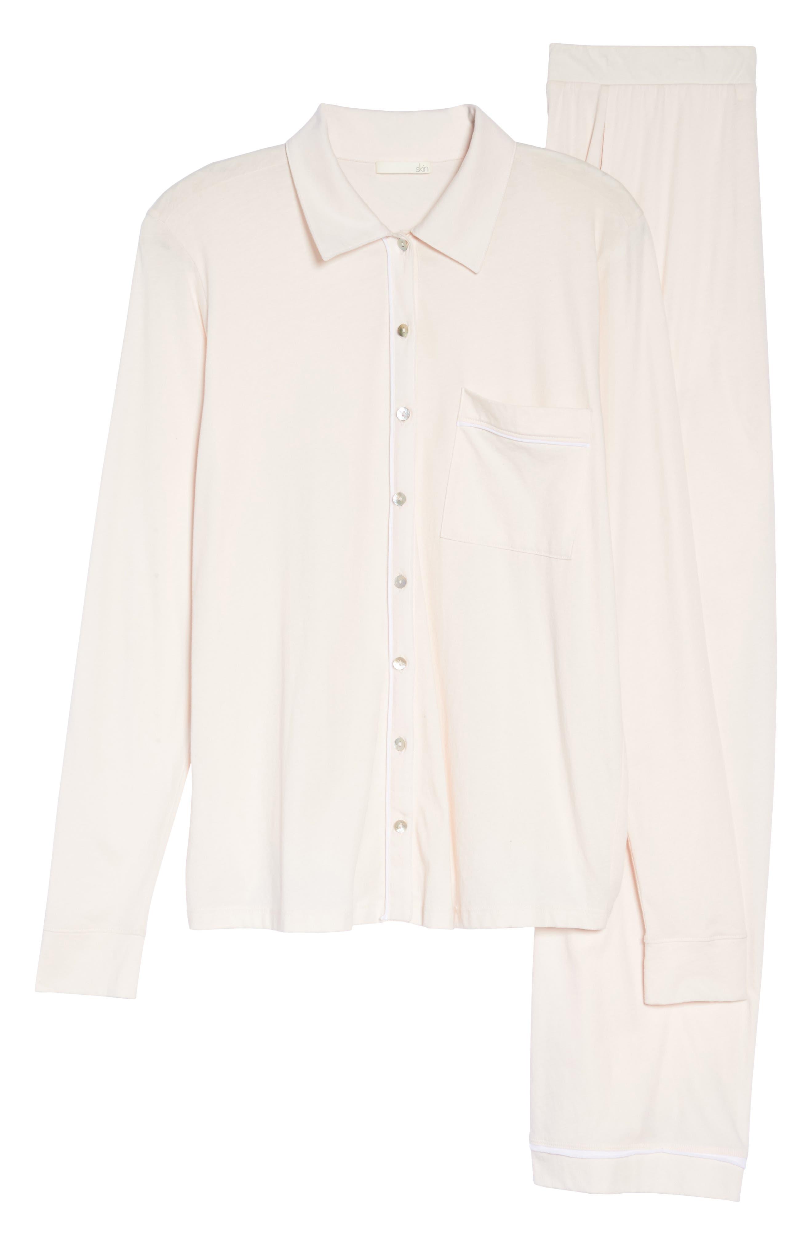 Penelope Pima Cotton Pajamas,                             Alternate thumbnail 6, color,                             689
