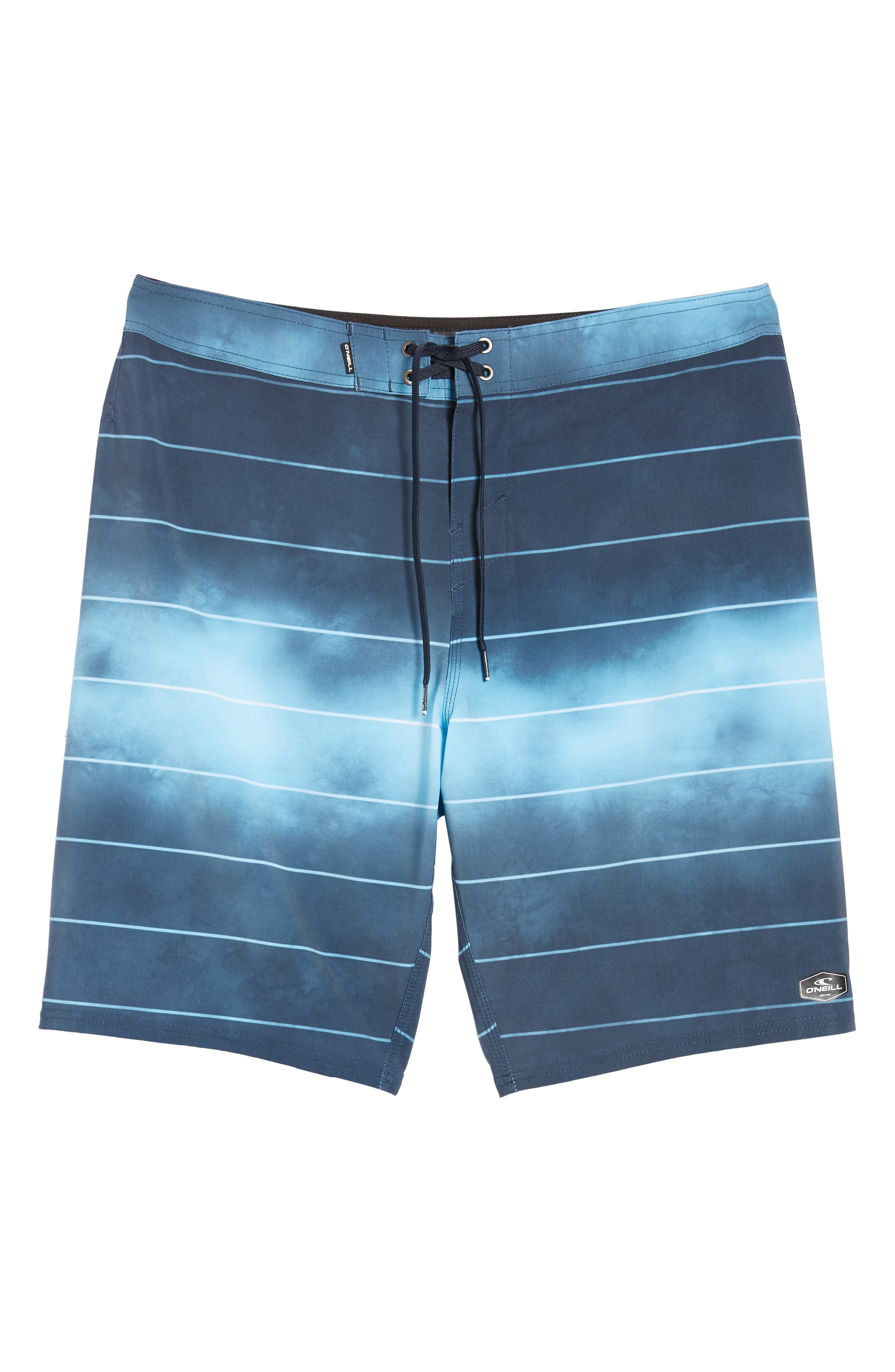Hyperfreak Smokey Mirrors Board Shorts,                             Alternate thumbnail 6, color,                             NAVY