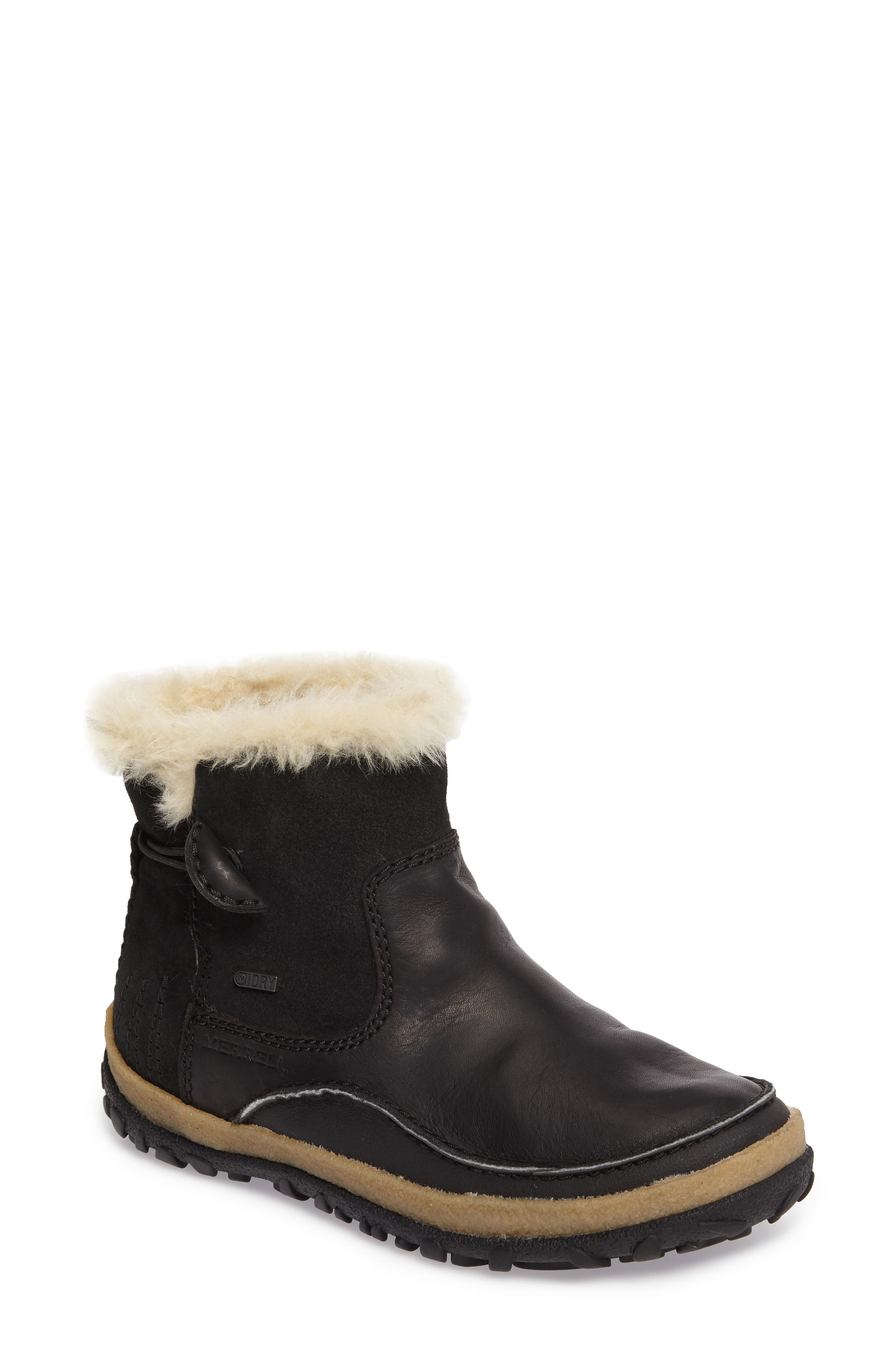 Tremblant Pull-On Polar Waterproof Bootie,                             Main thumbnail 1, color,                             001