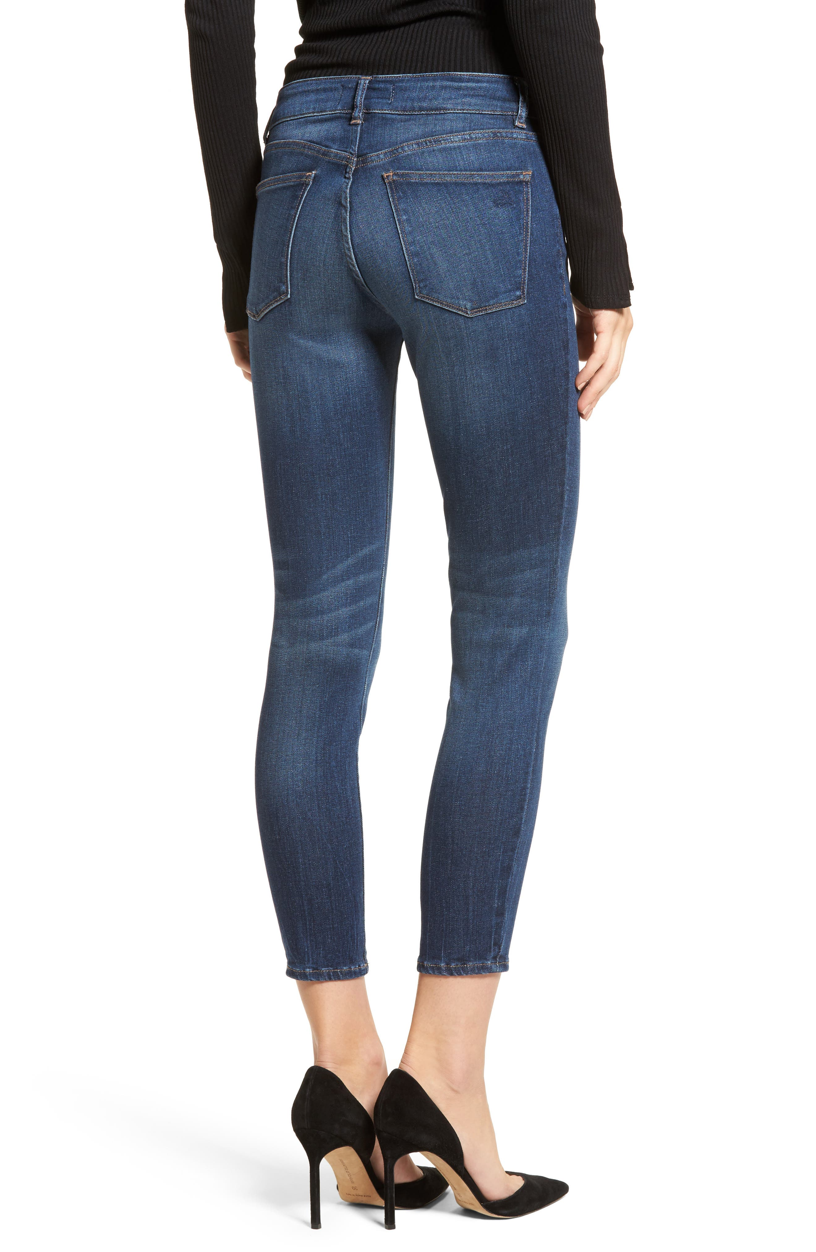 Florence Instasculpt Crop Skinny Jeans,                             Alternate thumbnail 2, color,                             405