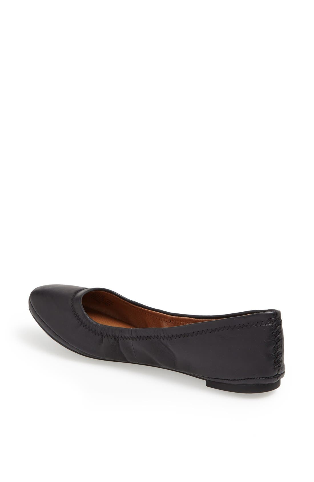 LUCKY BRAND,                             'Emmie' Flat,                             Alternate thumbnail 2, color,                             001