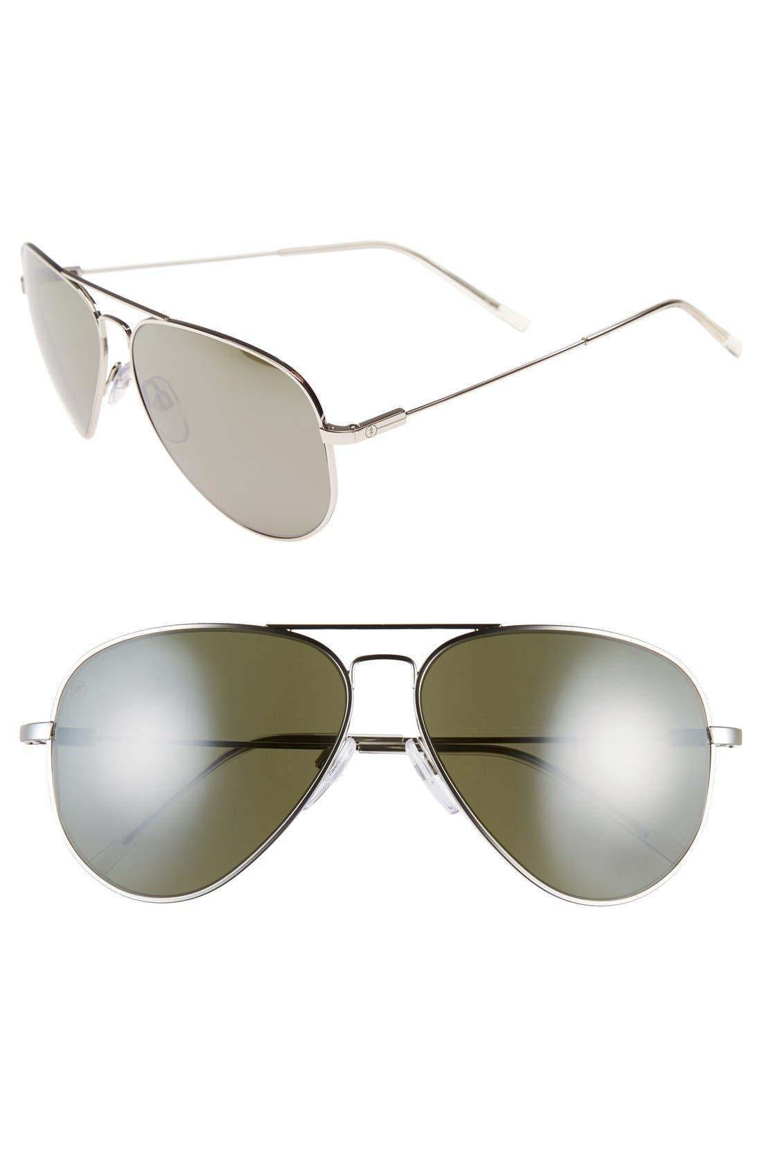 'AV1 XL' 62mm Aviator Sunglasses,                             Main thumbnail 2, color,