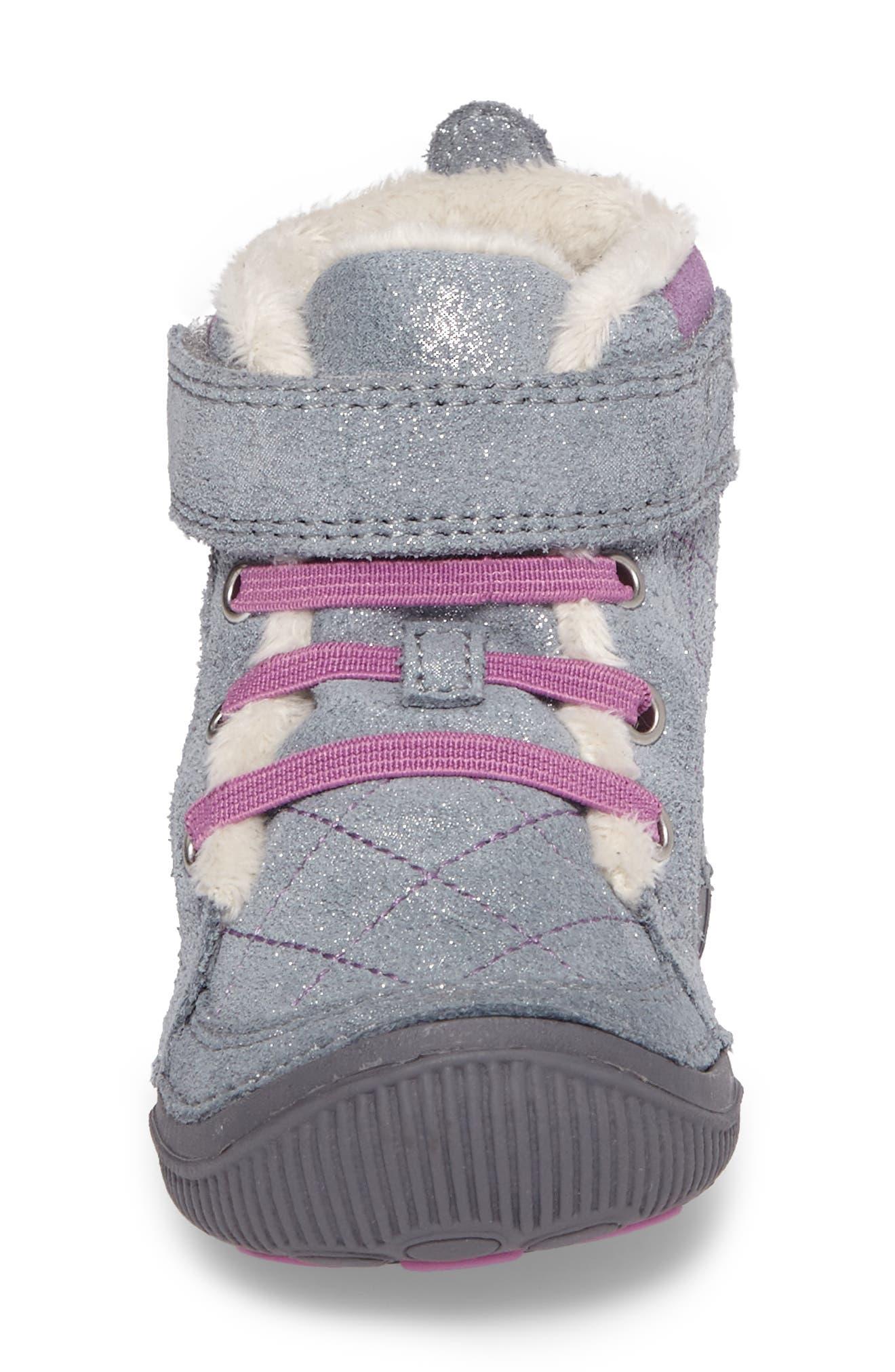 SRtech<sup>™</sup> Phoebe Faux Fur Boot,                             Alternate thumbnail 4, color,                             040