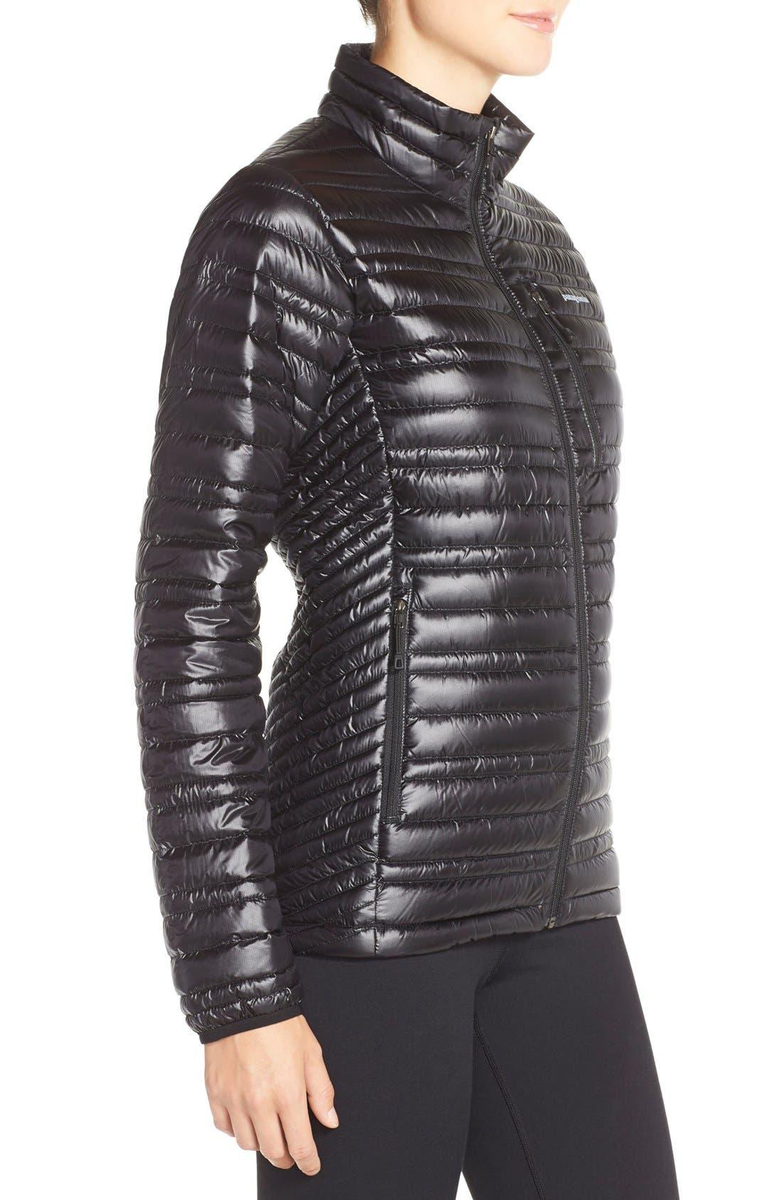 PATAGONIA,                             'Ultralight' Down Puffer Jacket,                             Alternate thumbnail 3, color,                             BLACK