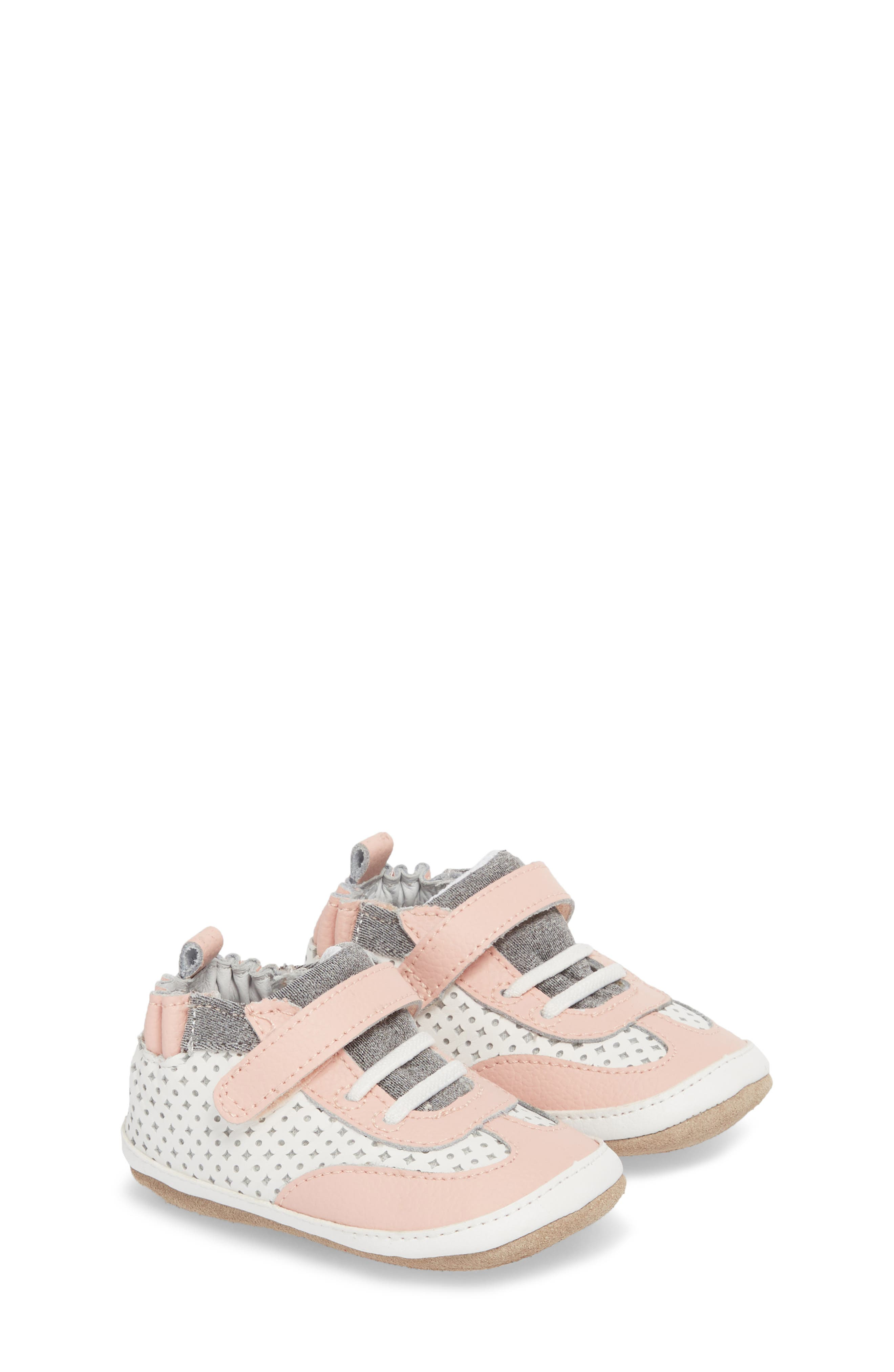 Mini Shoez Katie's Kicks Sneaker,                             Main thumbnail 1, color,                             PINK