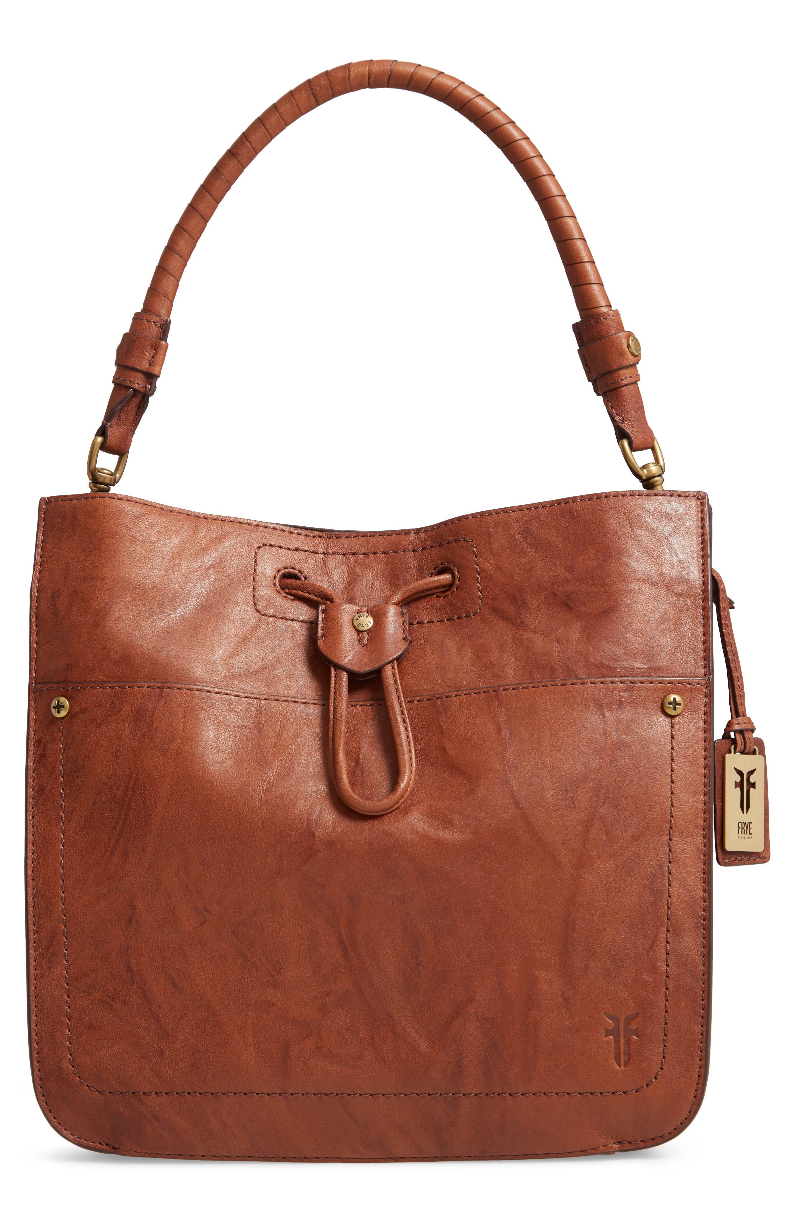 Demi Hobo Bag,                         Main,                         color, WHISKEY