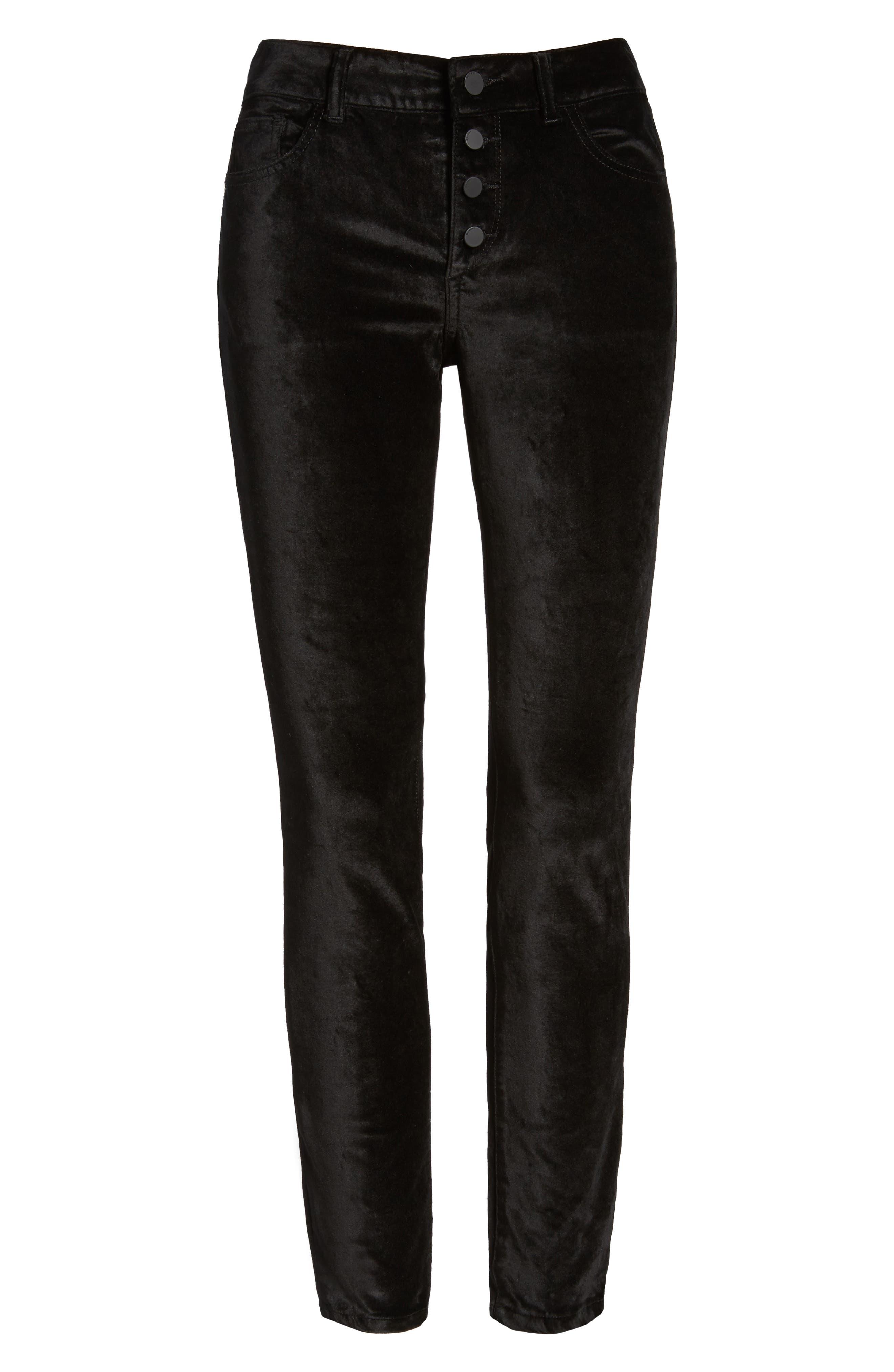 Emma Power Legging Jeans,                             Alternate thumbnail 6, color,                             001