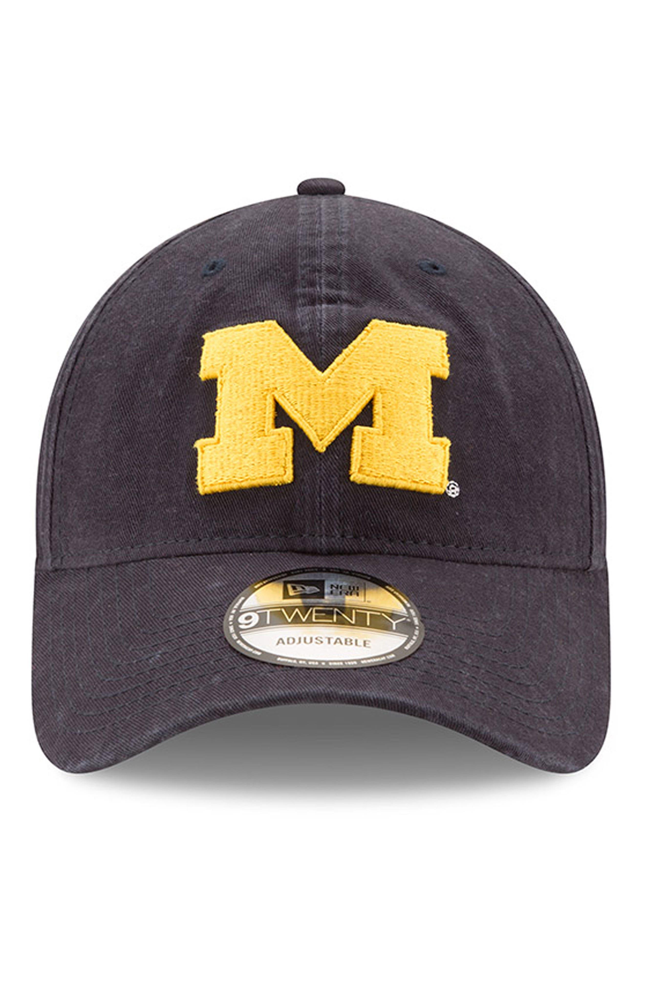 New Era Collegiate Core Classic - Michigan Wolverines Baseball Cap,                             Alternate thumbnail 2, color,                             410