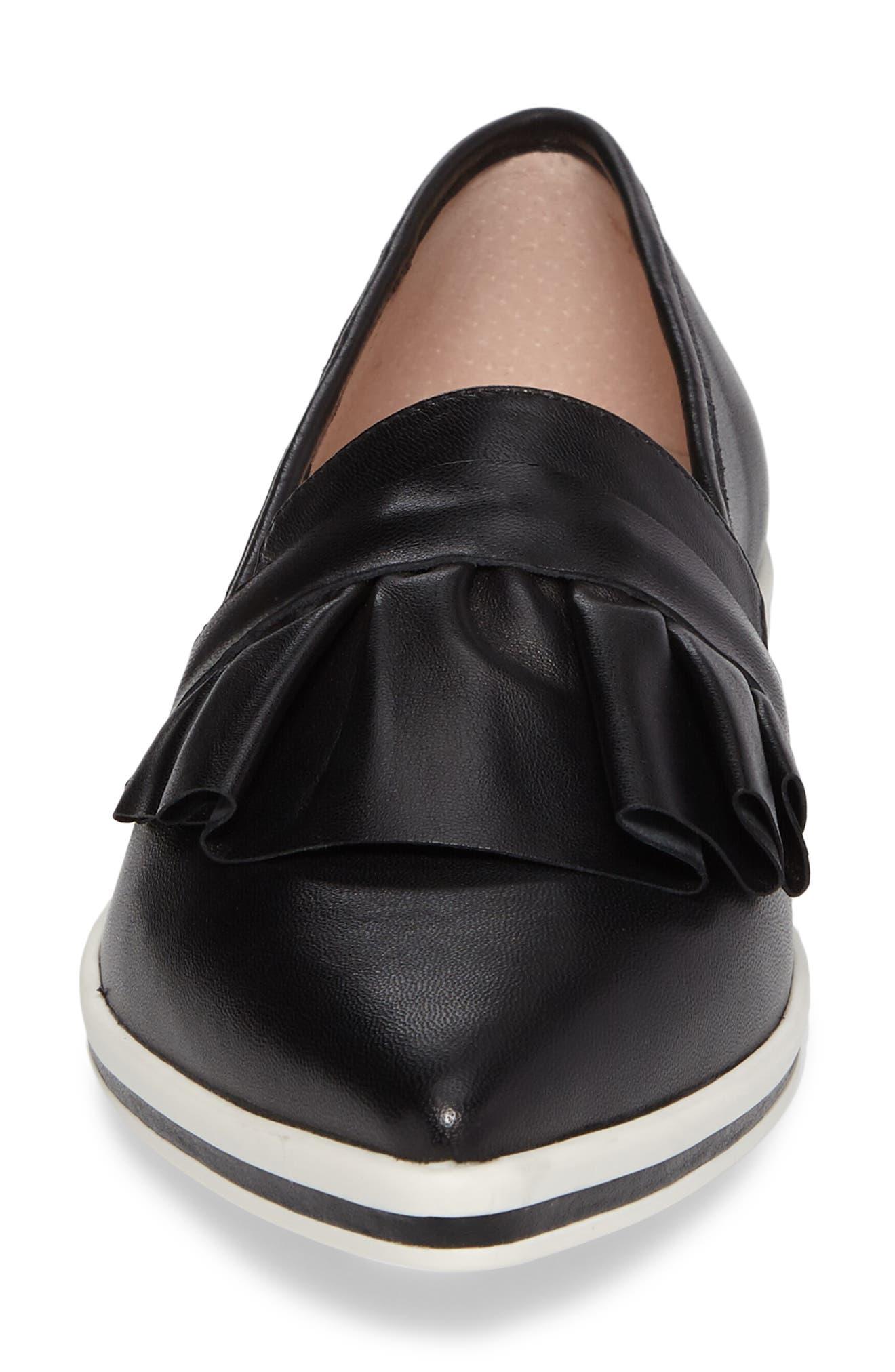 Taraji Ruffle Slip-On Sneaker,                             Alternate thumbnail 13, color,
