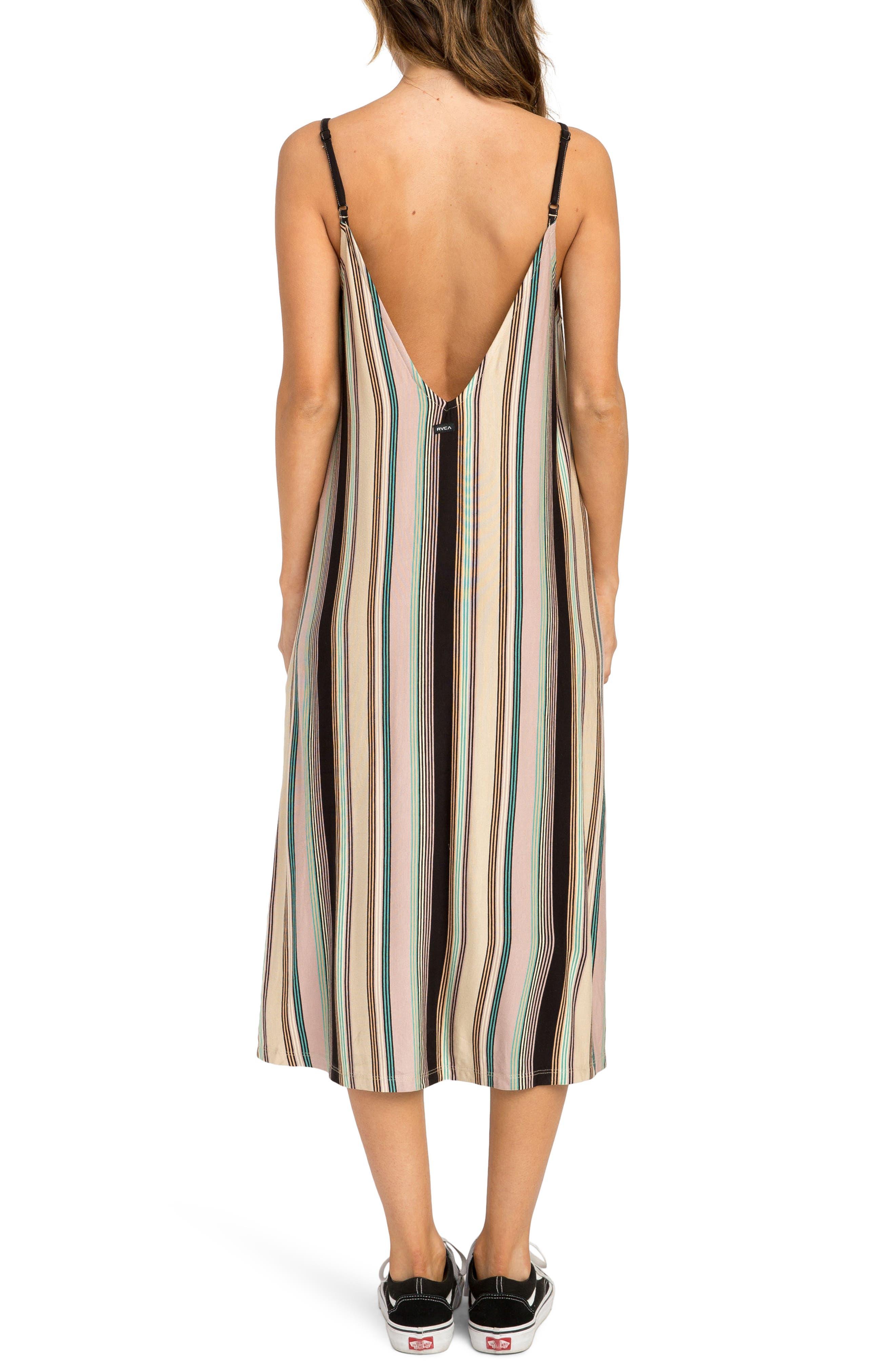 Jasmine Stripe Midi Dress,                             Alternate thumbnail 2, color,