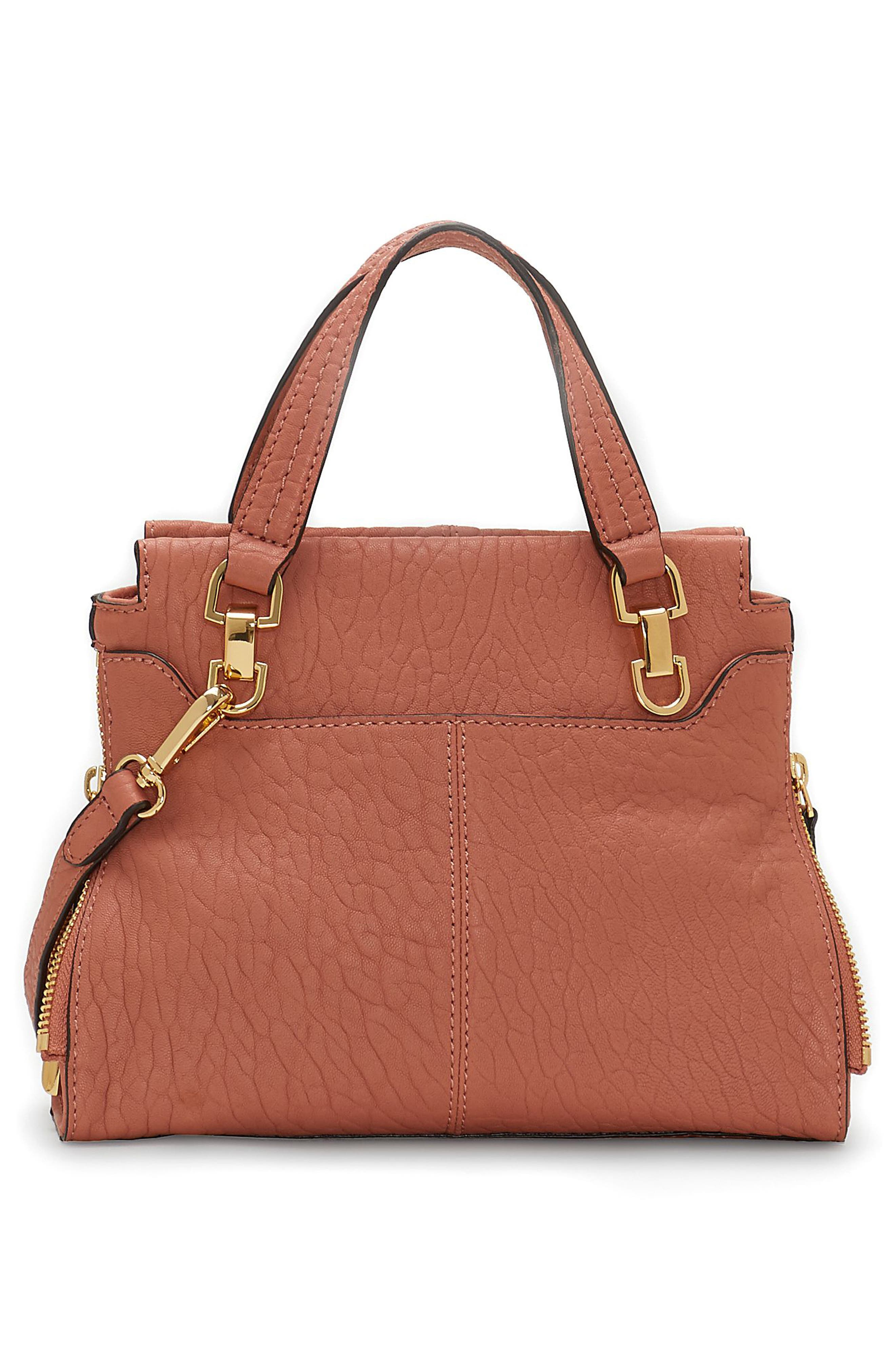 Small Riley Leather Tote,                             Alternate thumbnail 6, color,